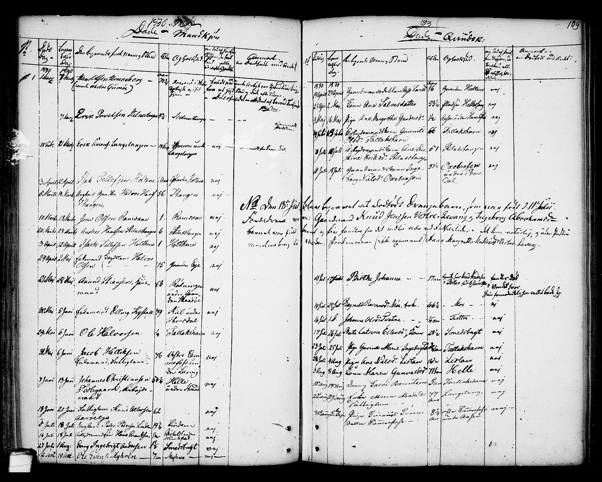 SAKO, Kragerø kirkebøker, F/Fa/L0002: Ministerialbok nr. 2, 1767-1802, s. 109