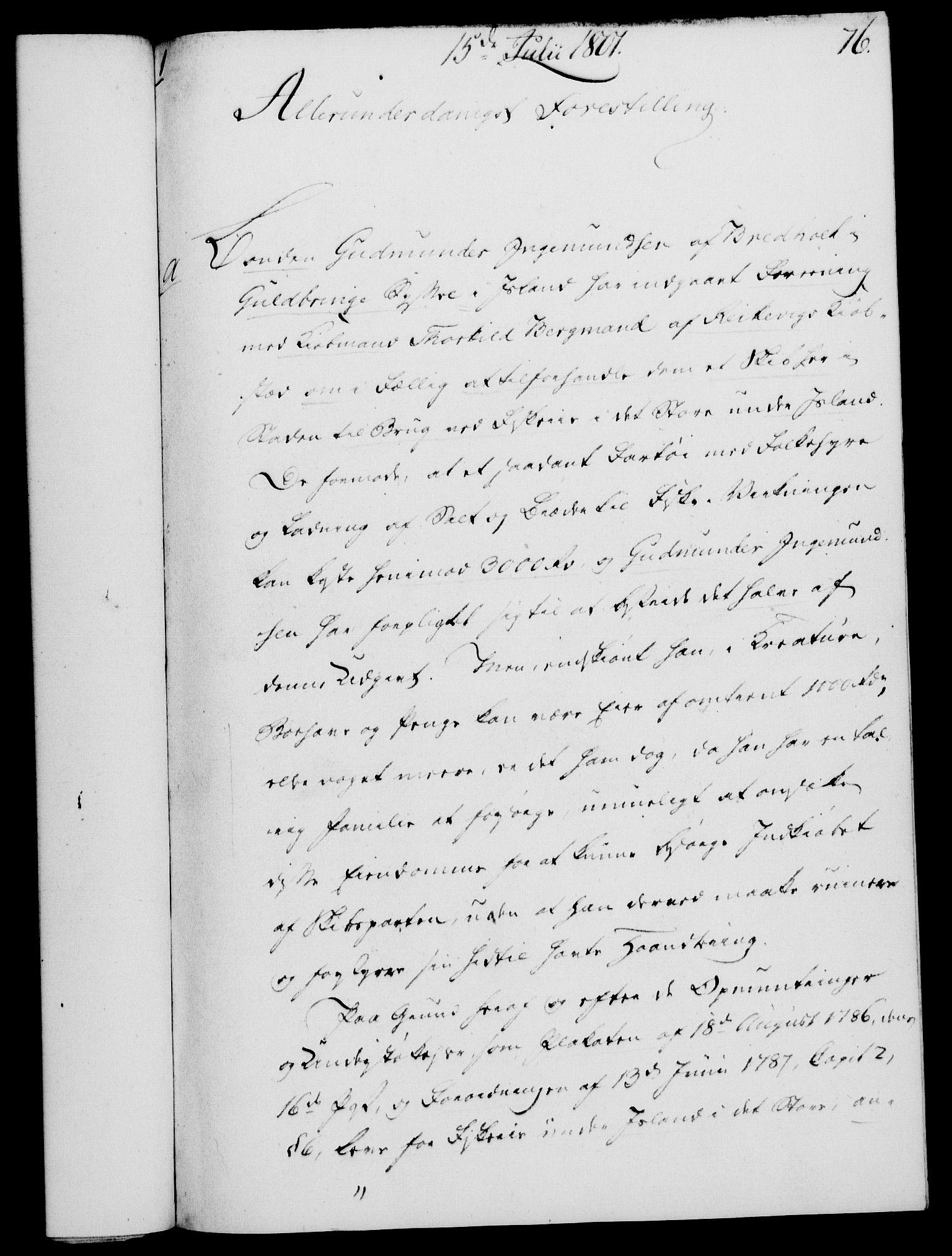 RA, Rentekammeret, Kammerkanselliet, G/Gf/Gfa/L0083: Norsk relasjons- og resolusjonsprotokoll (merket RK 52.83), 1801, s. 450