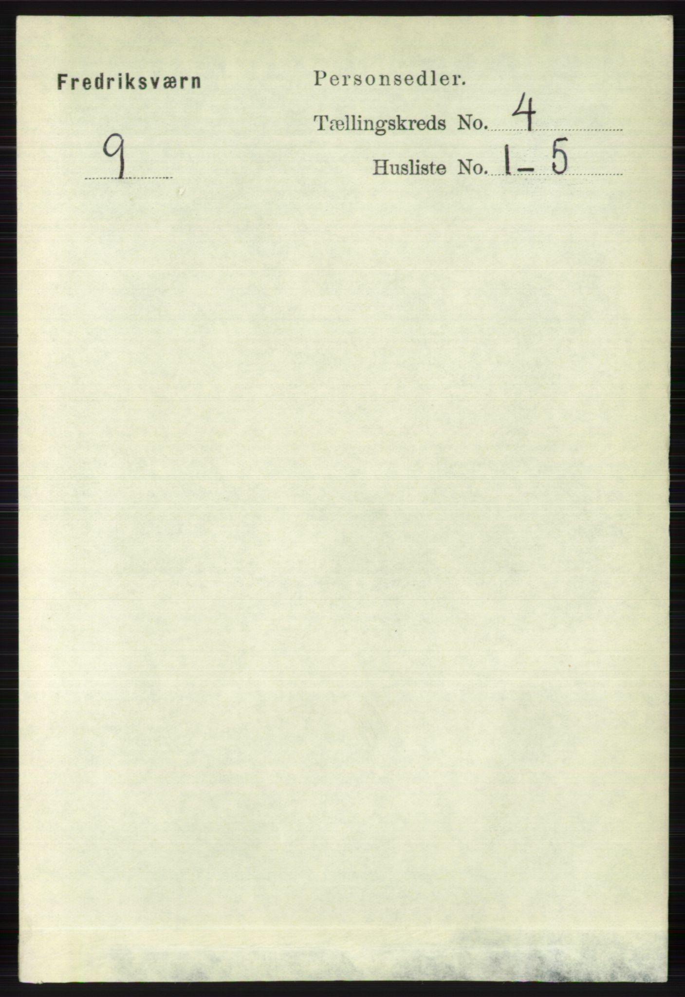 RA, Folketelling 1891 for 0798 Fredriksvern herred, 1891, s. 711