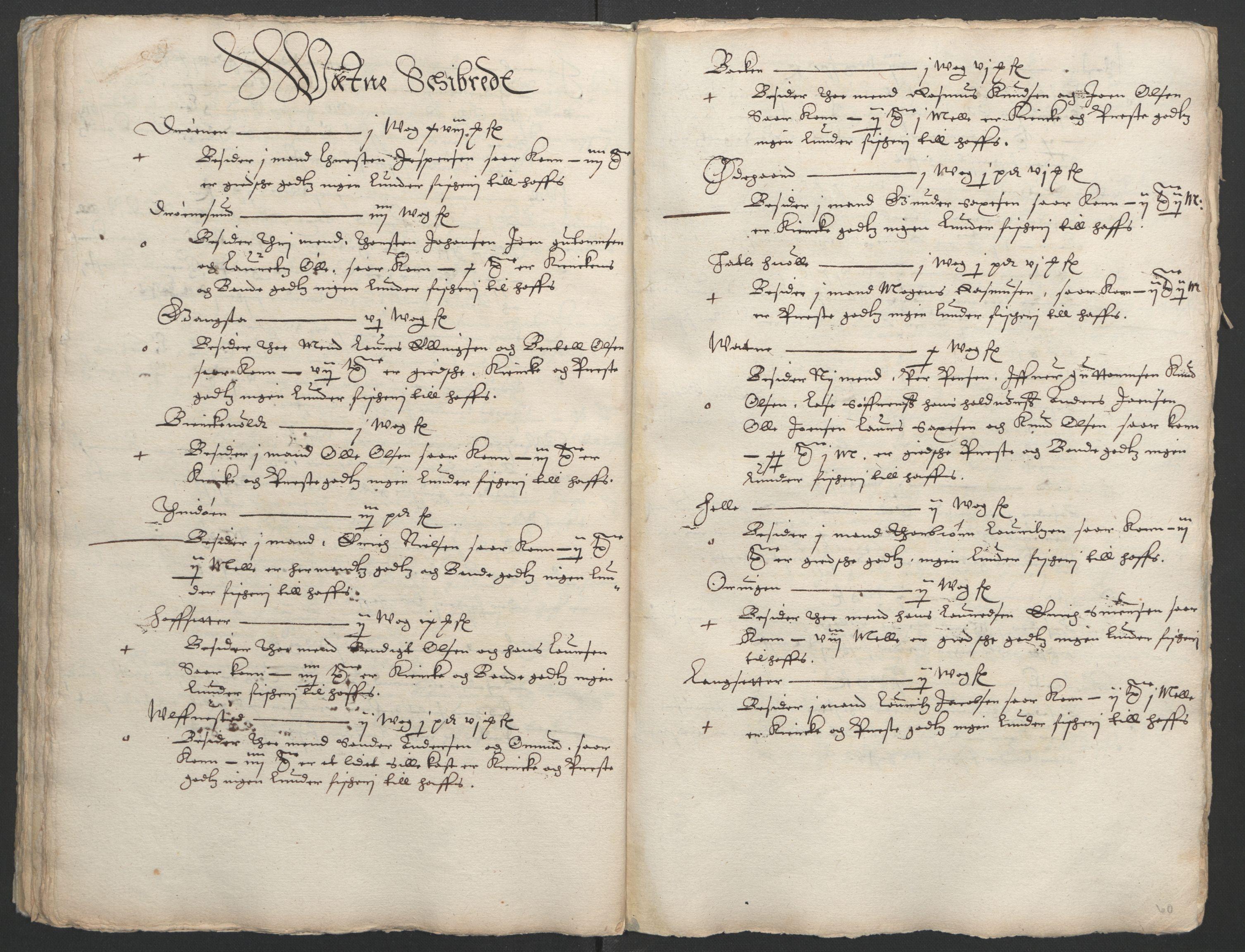 RA, Stattholderembetet 1572-1771, Ek/L0005: Jordebøker til utlikning av garnisonsskatt 1624-1626:, 1626, s. 201