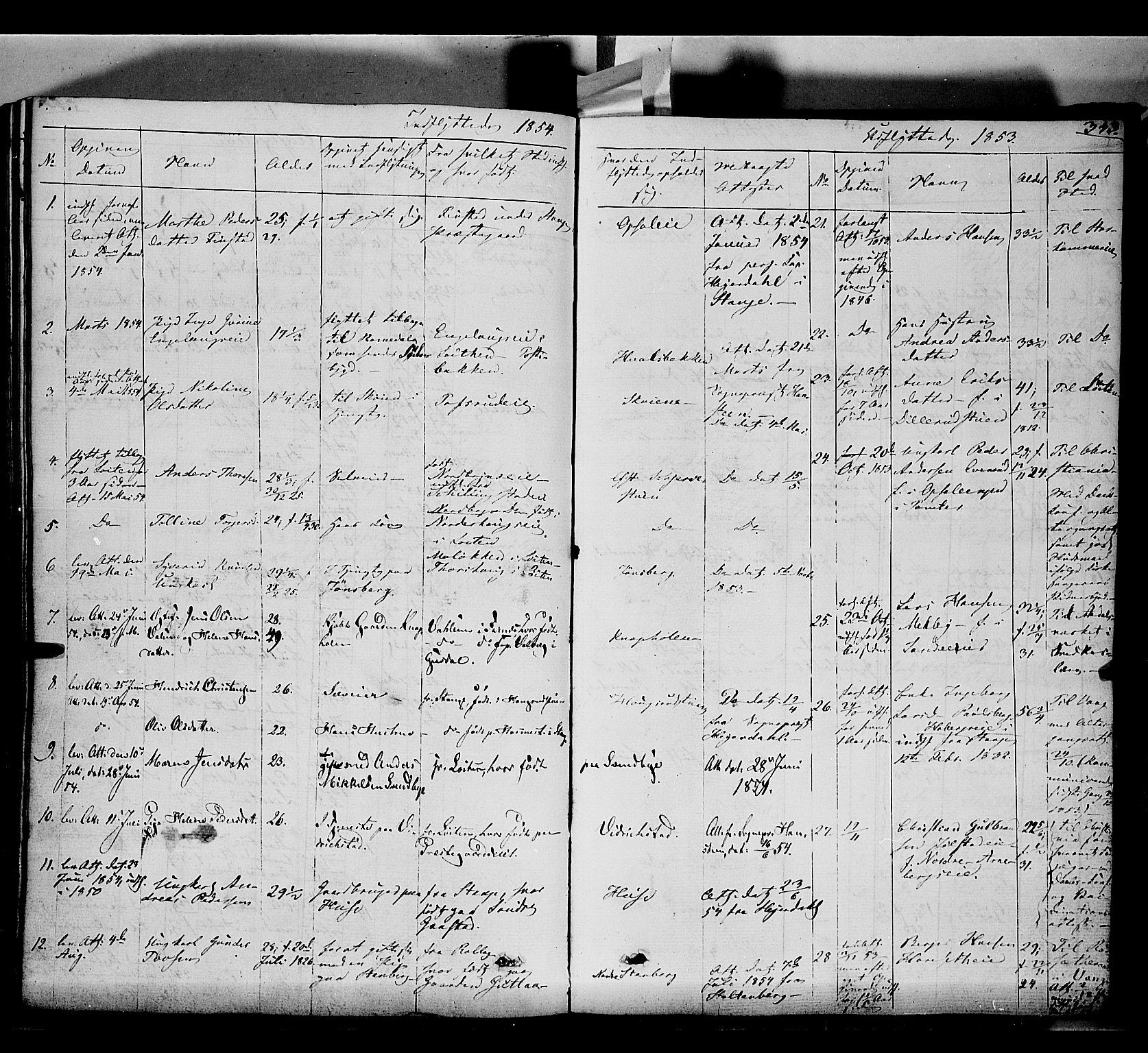 SAH, Romedal prestekontor, K/L0004: Ministerialbok nr. 4, 1847-1861, s. 343