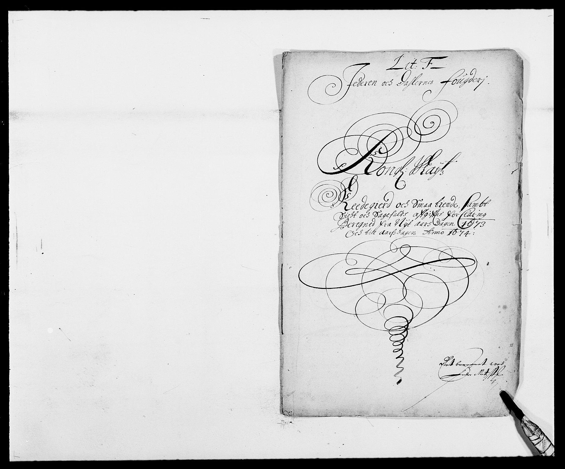 RA, Rentekammeret inntil 1814, Reviderte regnskaper, Fogderegnskap, R46/L2714: Fogderegnskap Jæren og Dalane, 1673-1674, s. 114