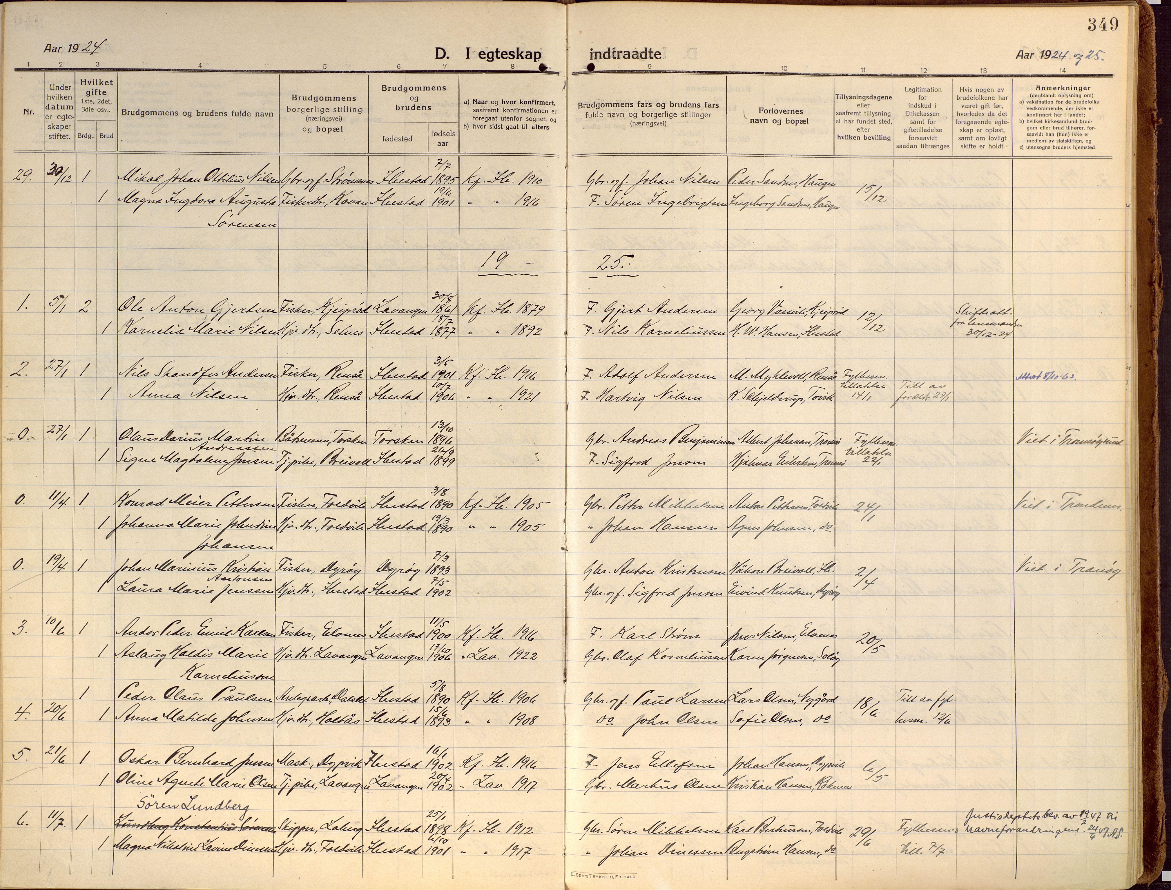 SATØ, Ibestad sokneprestembete, Ministerialbok nr. 18, 1915-1929, s. 349