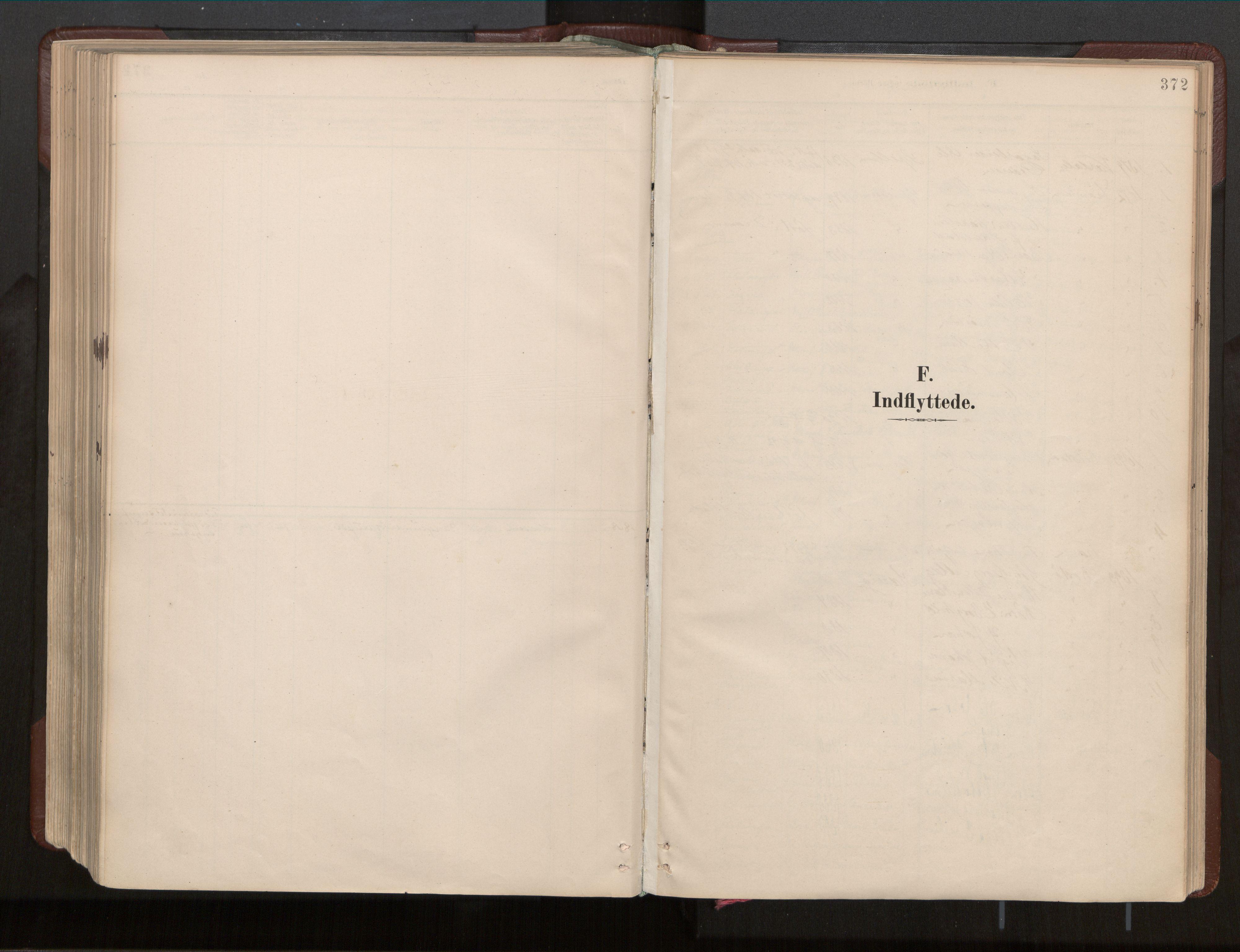 SAT, Ministerialprotokoller, klokkerbøker og fødselsregistre - Nord-Trøndelag, 770/L0589: Ministerialbok nr. 770A03, 1887-1929, s. 372