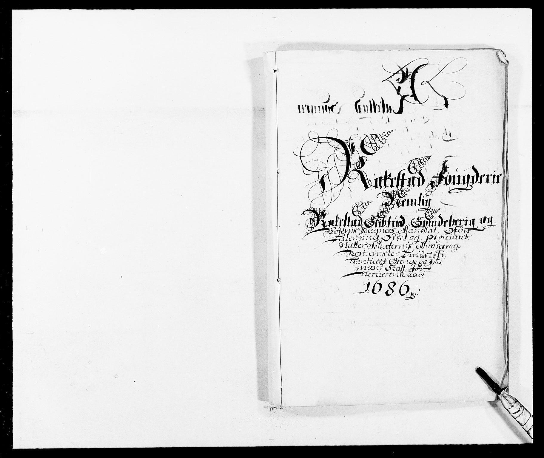RA, Rentekammeret inntil 1814, Reviderte regnskaper, Fogderegnskap, R05/L0275: Fogderegnskap Rakkestad, 1685-1686, s. 191