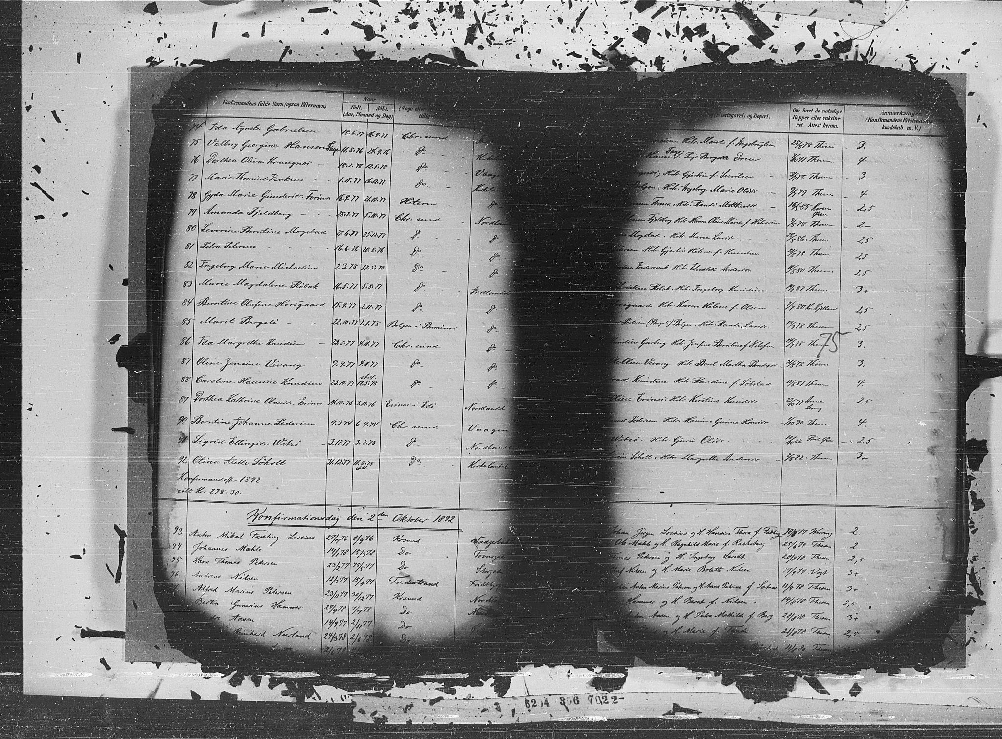 SAT, Ministerialprotokoller, klokkerbøker og fødselsregistre - Møre og Romsdal, 572/L0852: Ministerialbok nr. 572A15, 1880-1900, s. 75