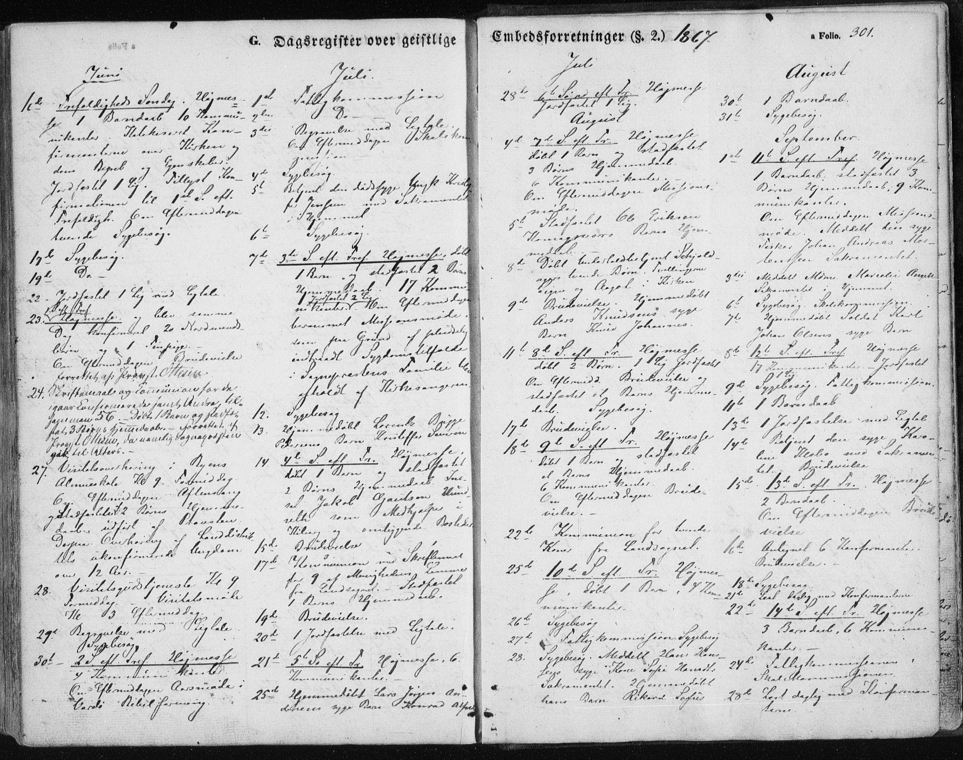 SATØ, Vardø sokneprestkontor, H/Ha/L0004kirke: Ministerialbok nr. 4, 1862-1871, s. 301
