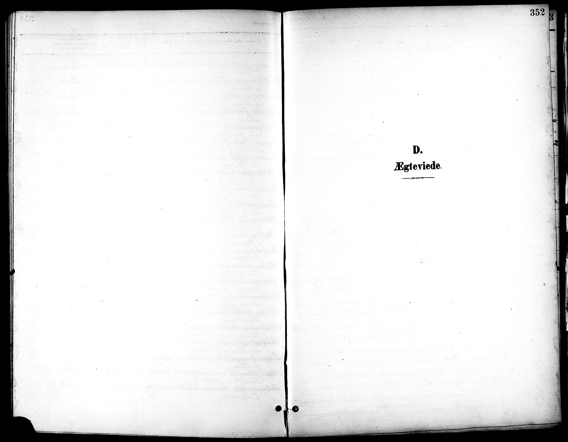 SAT, Ministerialprotokoller, klokkerbøker og fødselsregistre - Sør-Trøndelag, 601/L0094: Klokkerbok nr. 601C12, 1898-1911, s. 352
