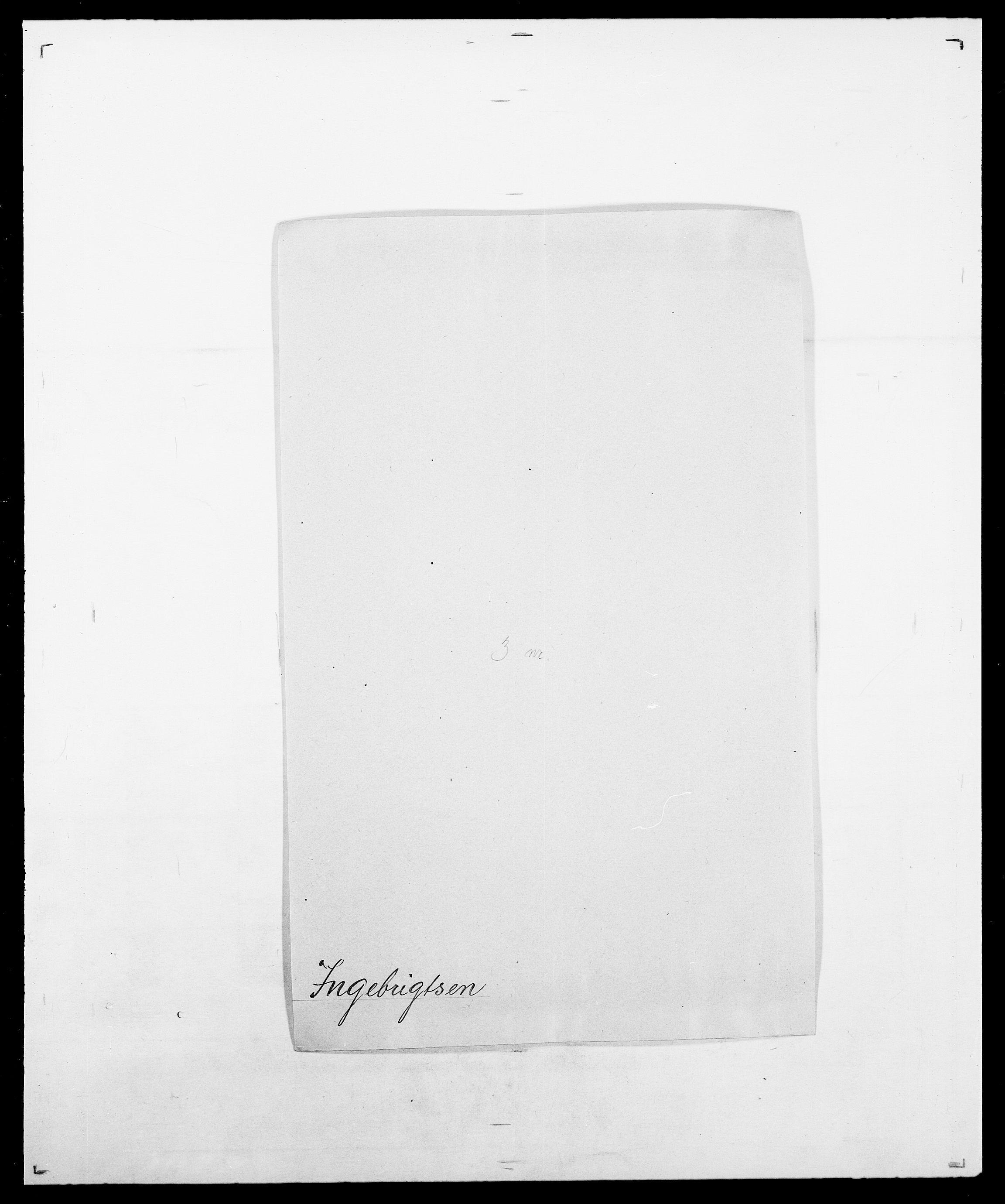 SAO, Delgobe, Charles Antoine - samling, D/Da/L0019: van der Hude - Joys, s. 776