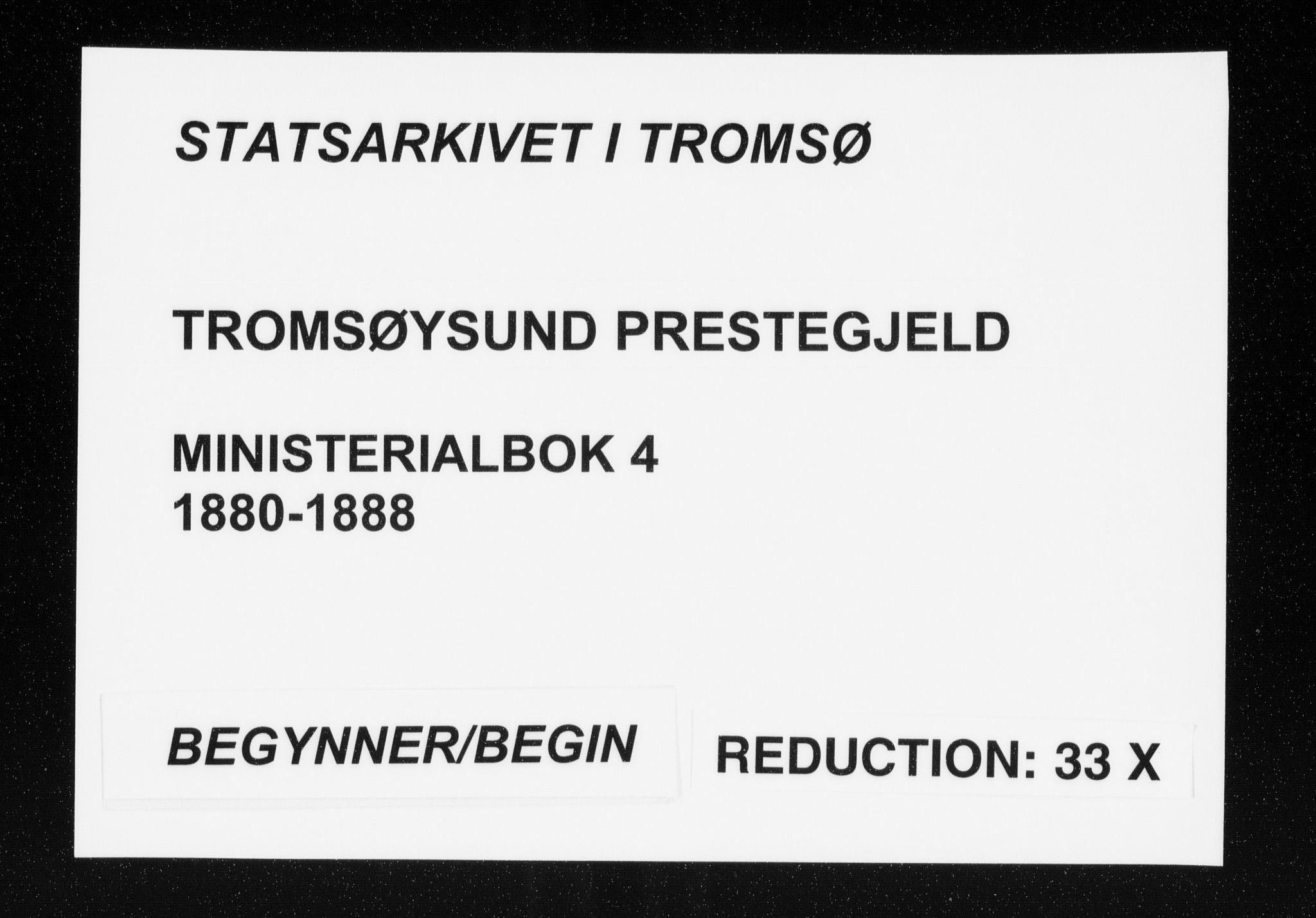 SATØ, Tromsøysund sokneprestkontor, G/Ga/L0004kirke: Ministerialbok nr. 4, 1880-1888