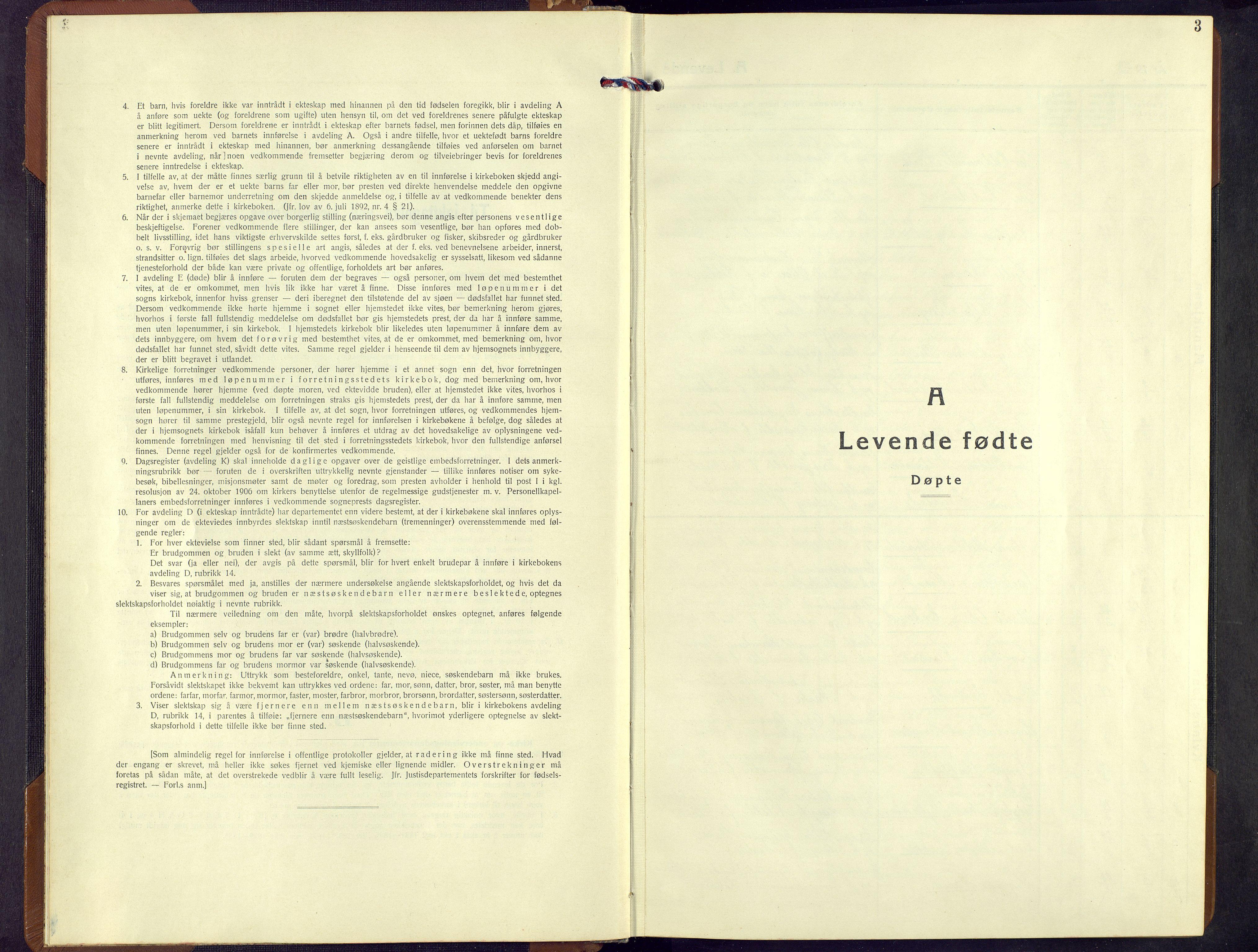 SAH, Ringebu prestekontor, Klokkerbok nr. 13, 1943-1956, s. 3