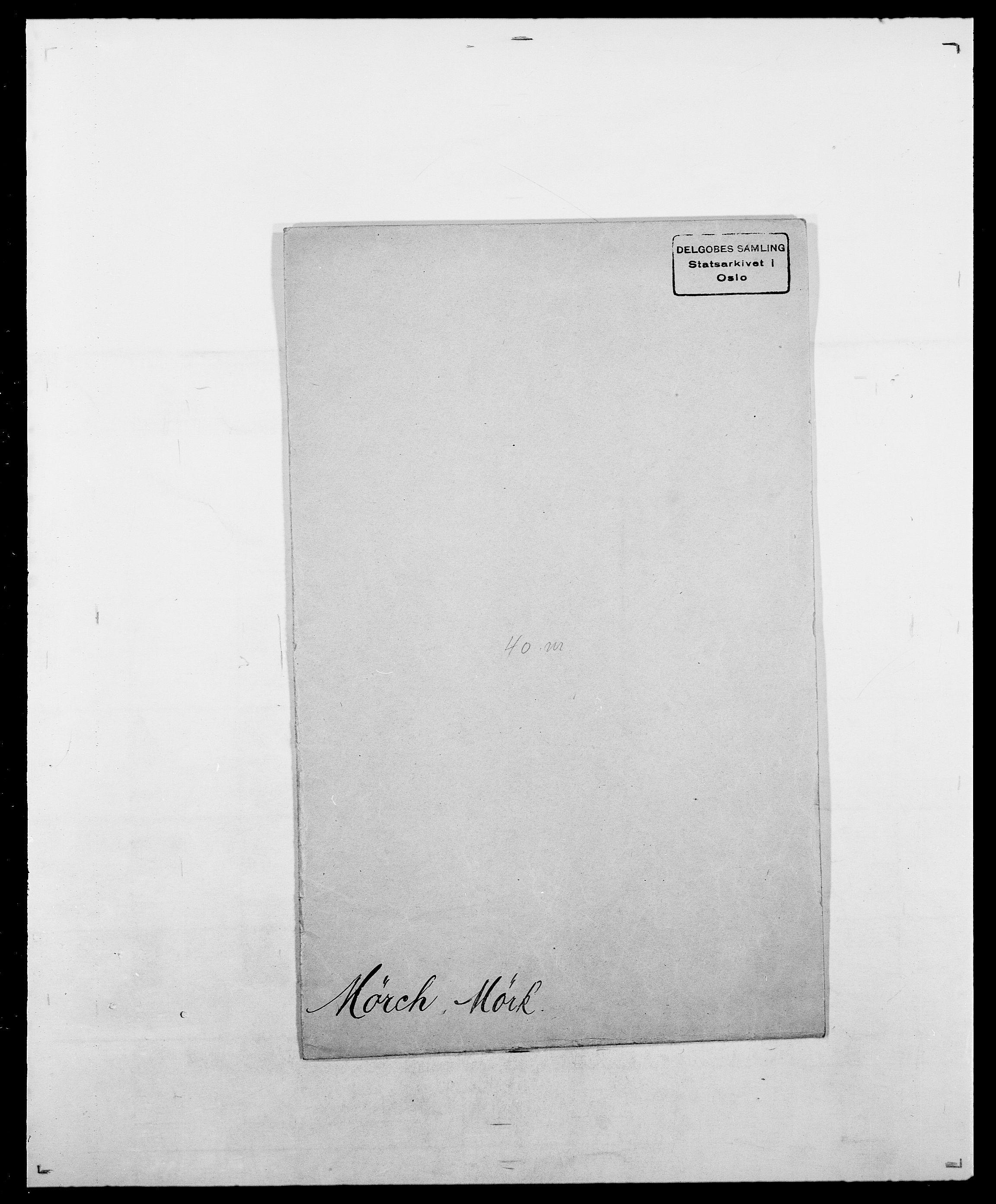 SAO, Delgobe, Charles Antoine - samling, D/Da/L0027: Morath - v. Møsting, s. 710