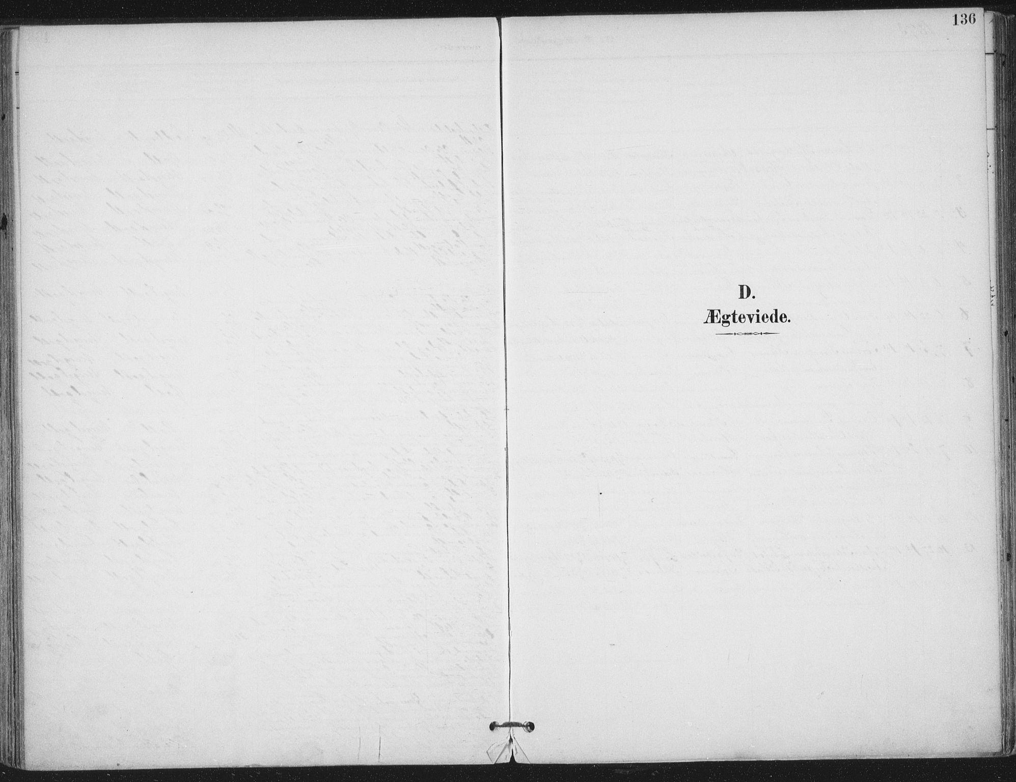 SAT, Ministerialprotokoller, klokkerbøker og fødselsregistre - Nord-Trøndelag, 703/L0031: Ministerialbok nr. 703A04, 1893-1914, s. 136