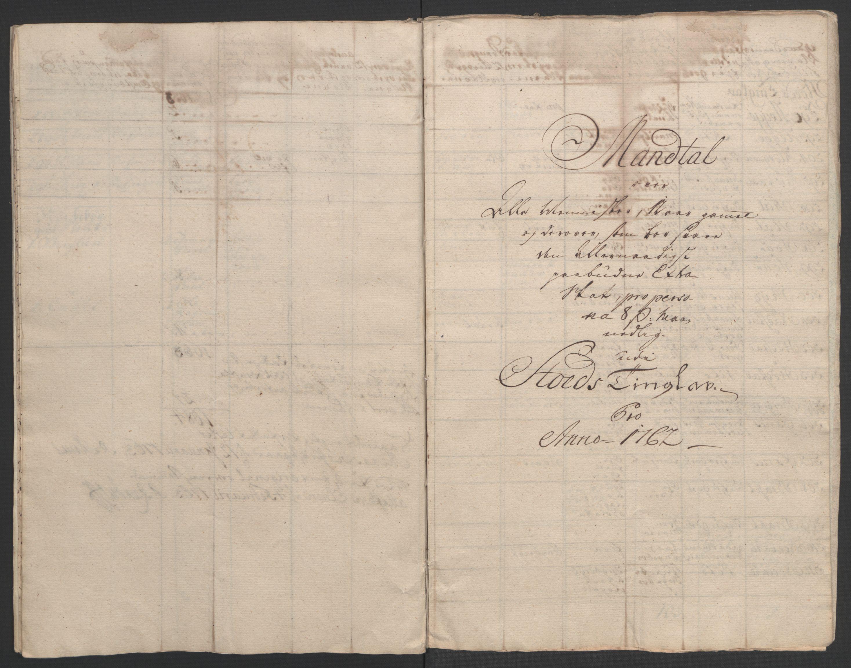 RA, Rentekammeret inntil 1814, Realistisk ordnet avdeling, Ol/L0020: [Gg 10]: Ekstraskatten, 23.09.1762. Romsdal, Strinda, Selbu, Inderøy., 1762-1764, s. 100