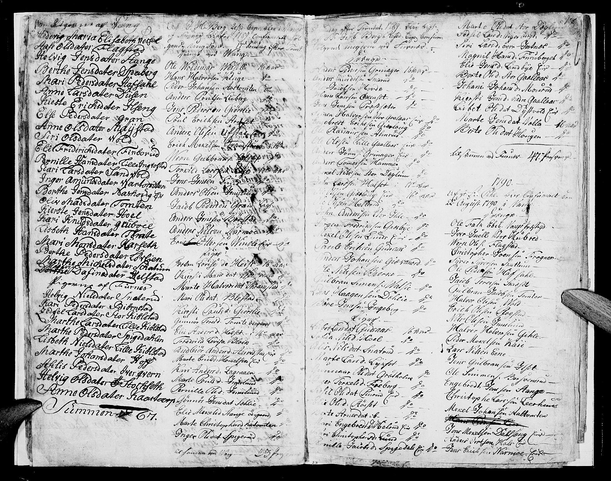 SAH, Vang prestekontor, Hedmark, H/Ha/Haa/L0004: Ministerialbok nr. 4, 1776-1806, s. 16-17
