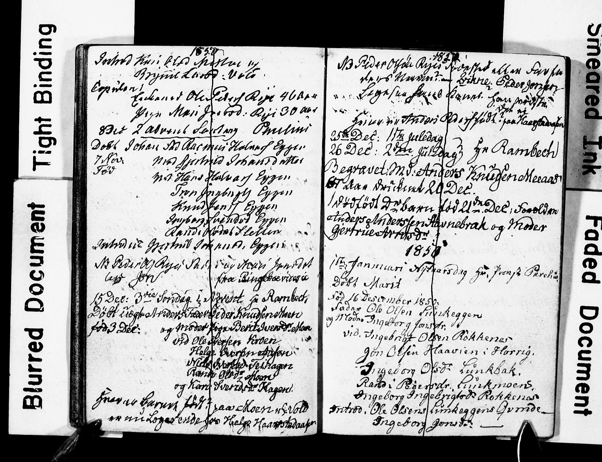 SAT, Ministerialprotokoller, klokkerbøker og fødselsregistre - Sør-Trøndelag, 674/L0885: Klokkerbok nr. 674C12, 1837-1861