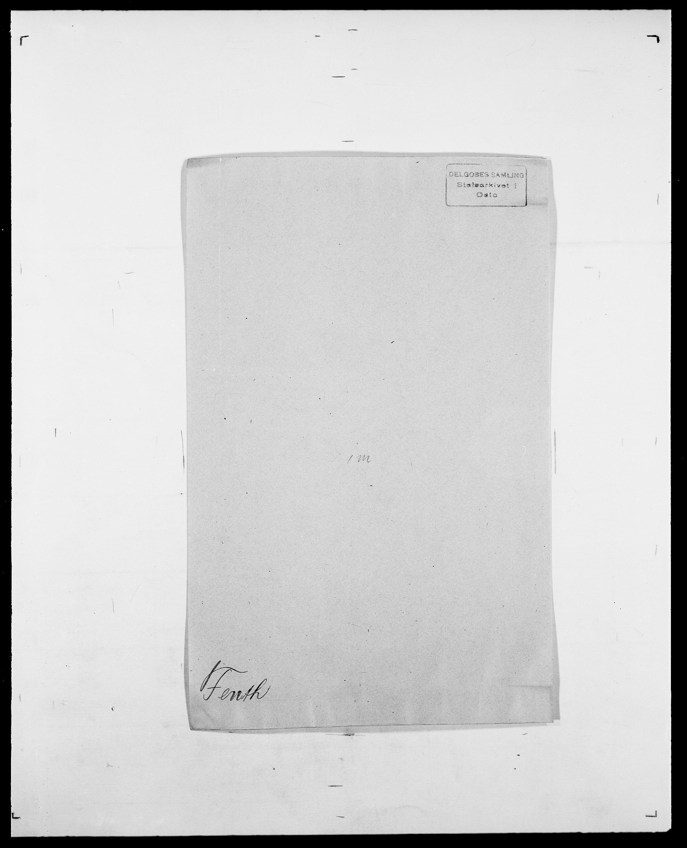SAO, Delgobe, Charles Antoine - samling, D/Da/L0011: Fahlander - Flood, Flod, s. 360