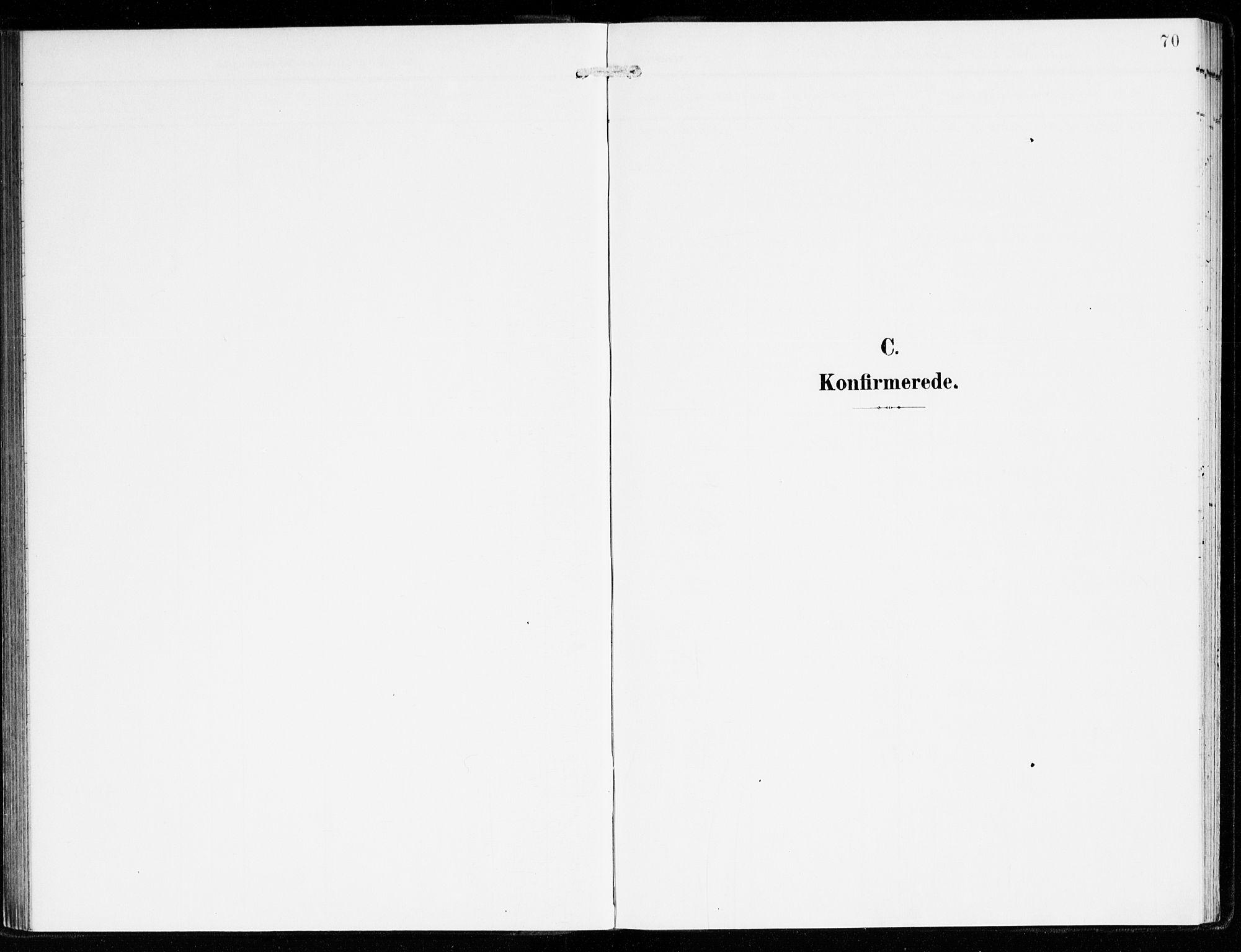 SAB, Hyllestad Sokneprestembete, Ministerialbok nr. B 2, 1903-1917, s. 70