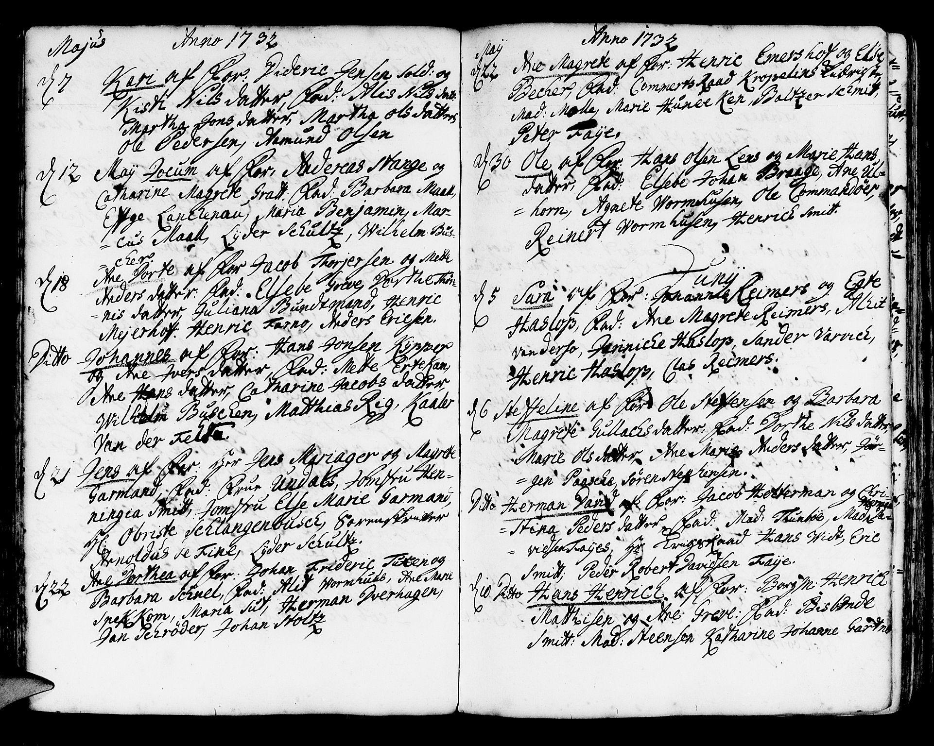 SAB, Korskirken Sokneprestembete, H/Haa/L0004: Ministerialbok nr. A 4, 1720-1750, s. 111