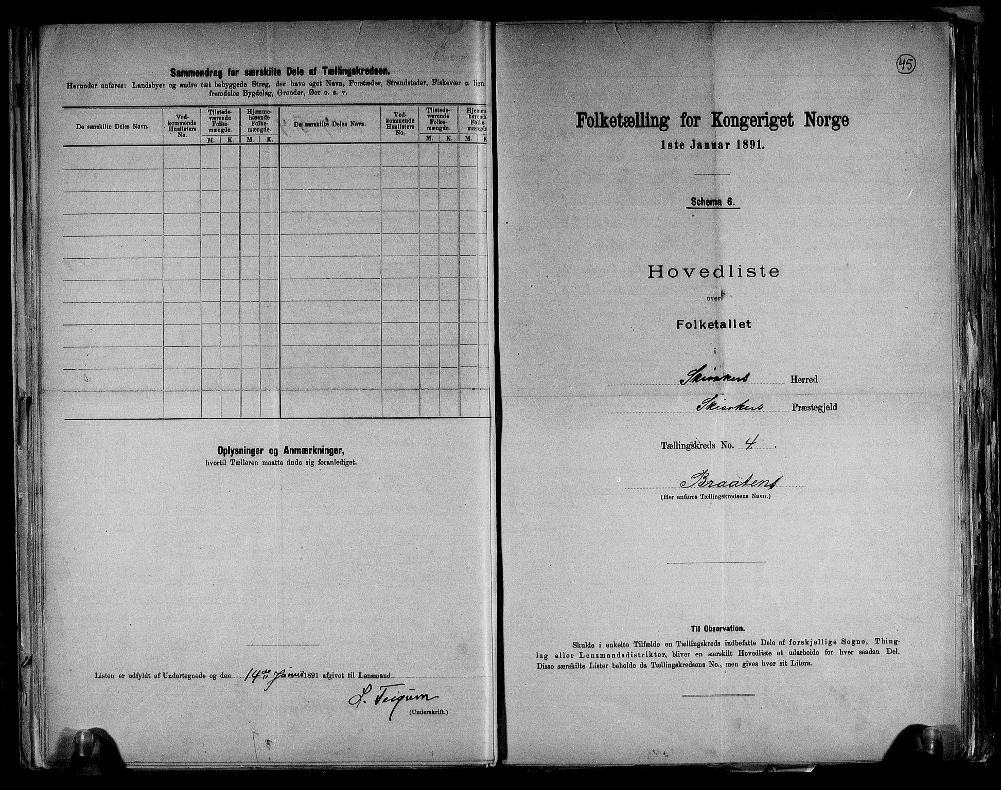 RA, Folketelling 1891 for 0513 Skjåk herred, 1891, s. 10