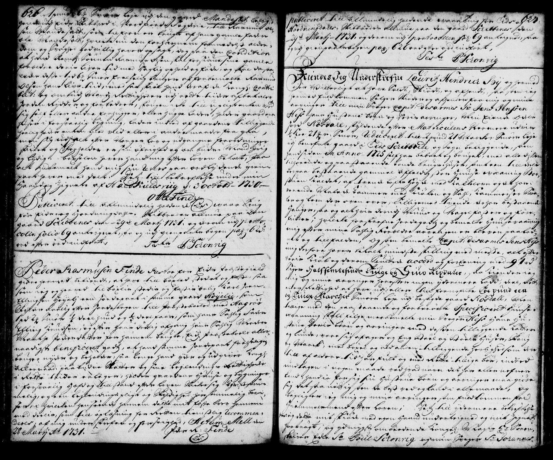 SAB, Nordfjord sorenskriveri, 02/02b/02ba/L0003: Pantebok nr. II.B.a.3, 1723-1733, s. 626-627