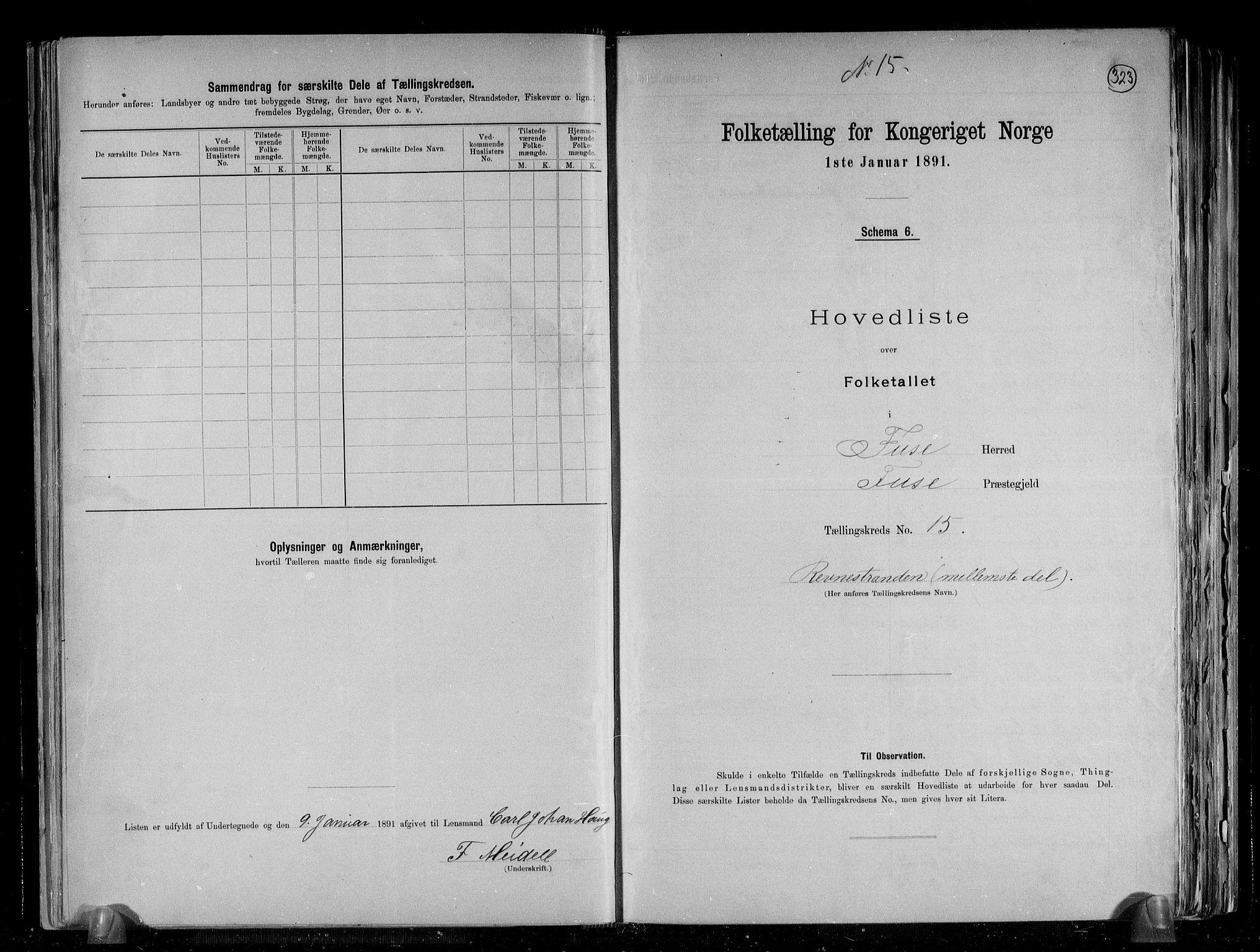 RA, Folketelling 1891 for 1241 Fusa herred, 1891, s. 32