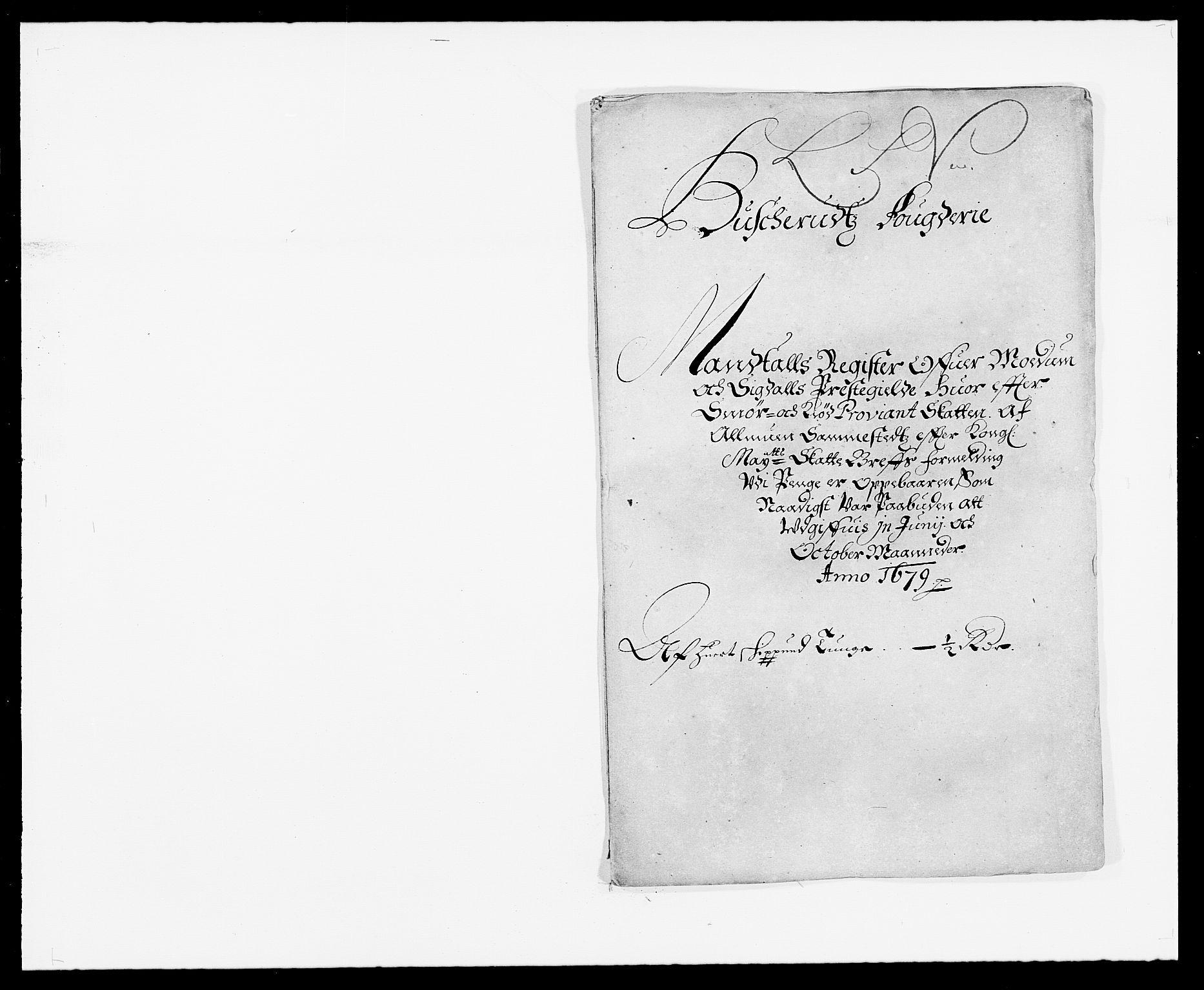 RA, Rentekammeret inntil 1814, Reviderte regnskaper, Fogderegnskap, R25/L1674: Fogderegnskap Buskerud, 1678-1681, s. 293