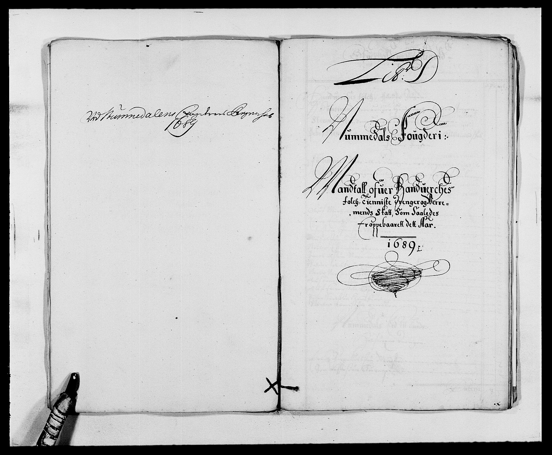 RA, Rentekammeret inntil 1814, Reviderte regnskaper, Fogderegnskap, R64/L4422: Fogderegnskap Namdal, 1687-1689, s. 216