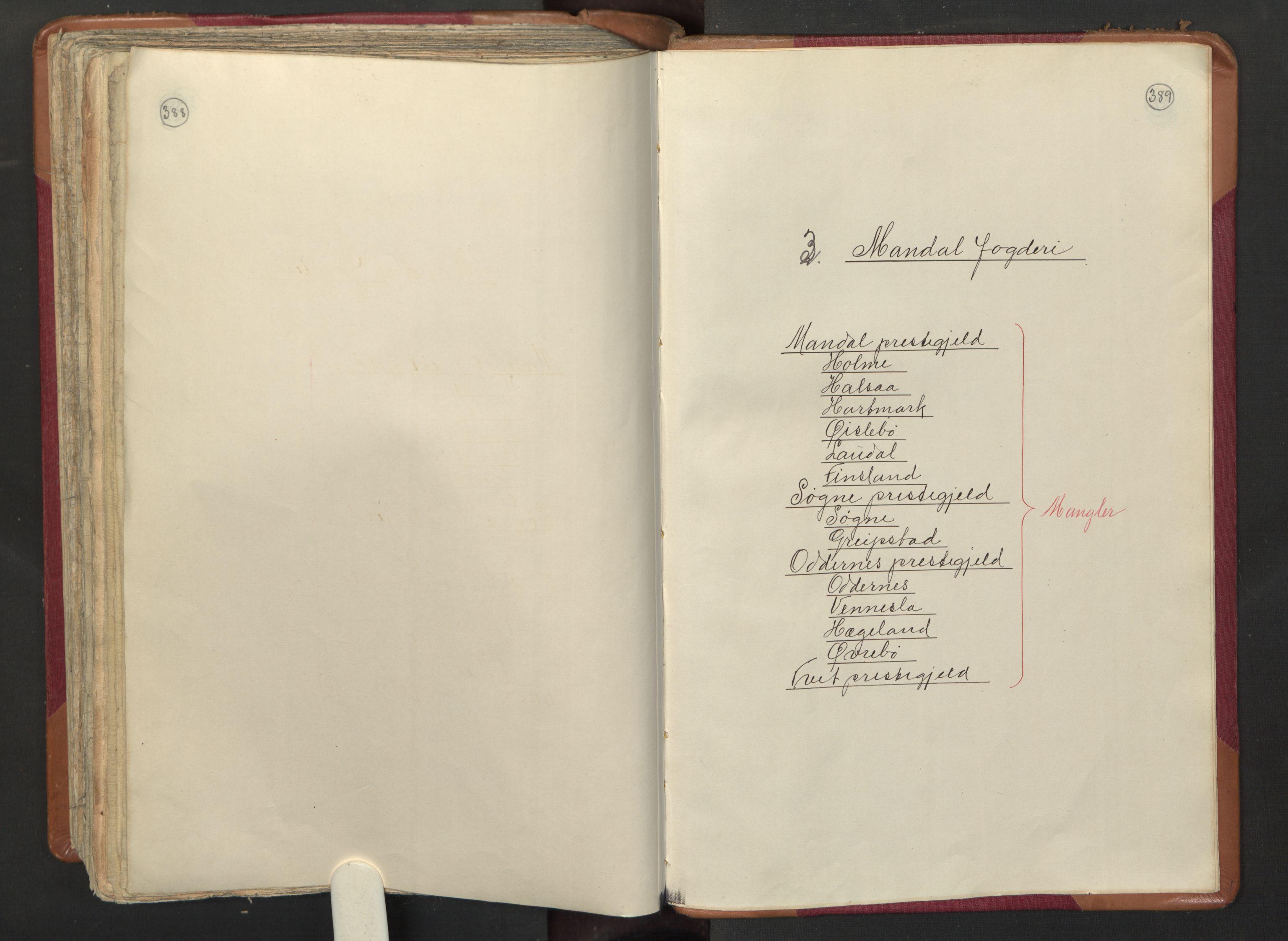 RA, Manntallet 1701, nr. 3: Nedenes fogderi, 1701, s. 388-389
