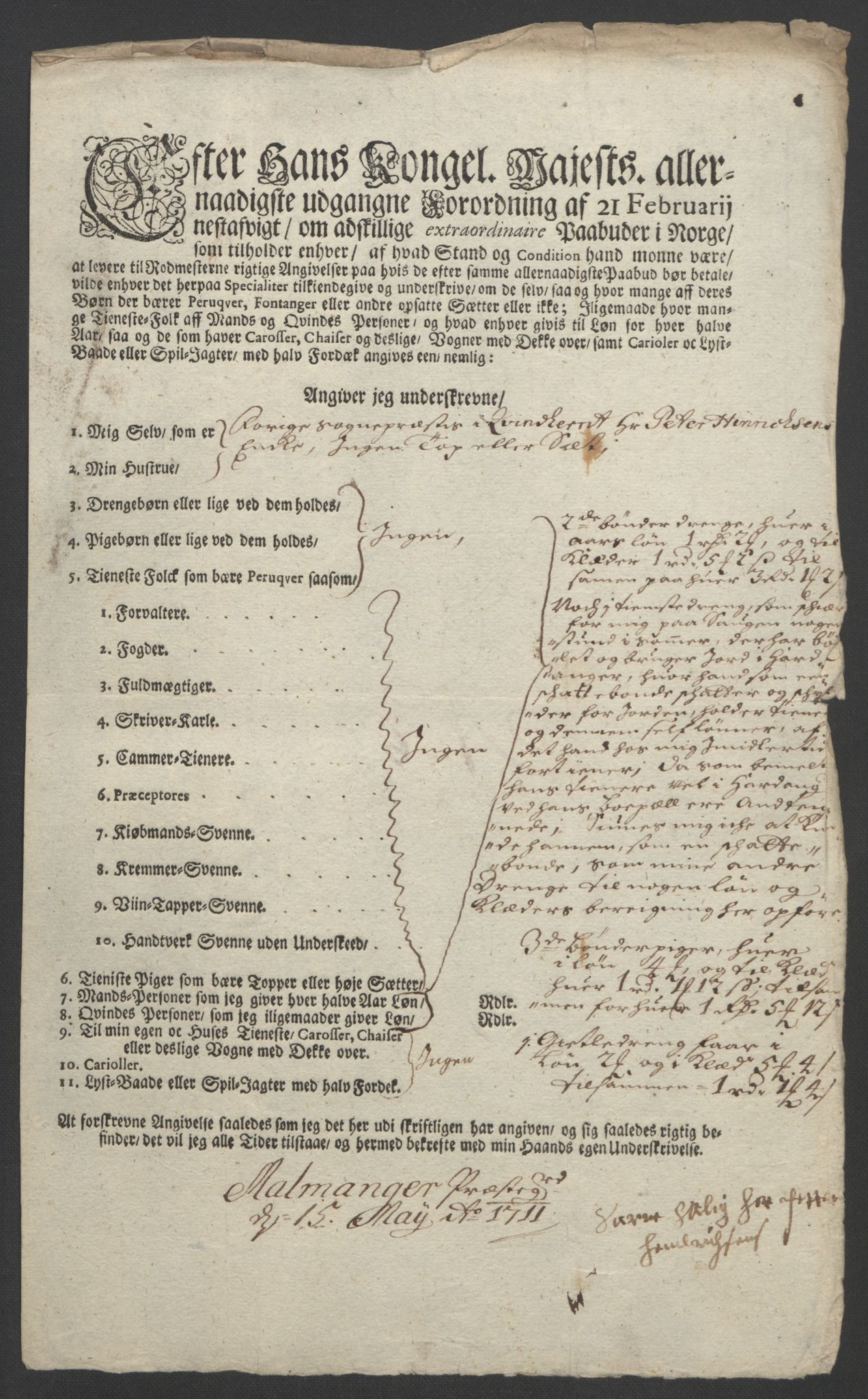 RA, Rentekammeret inntil 1814, Reviderte regnskaper, Fogderegnskap, R49/L3138: Fogderegnskap Rosendal Baroni, 1691-1714, s. 297