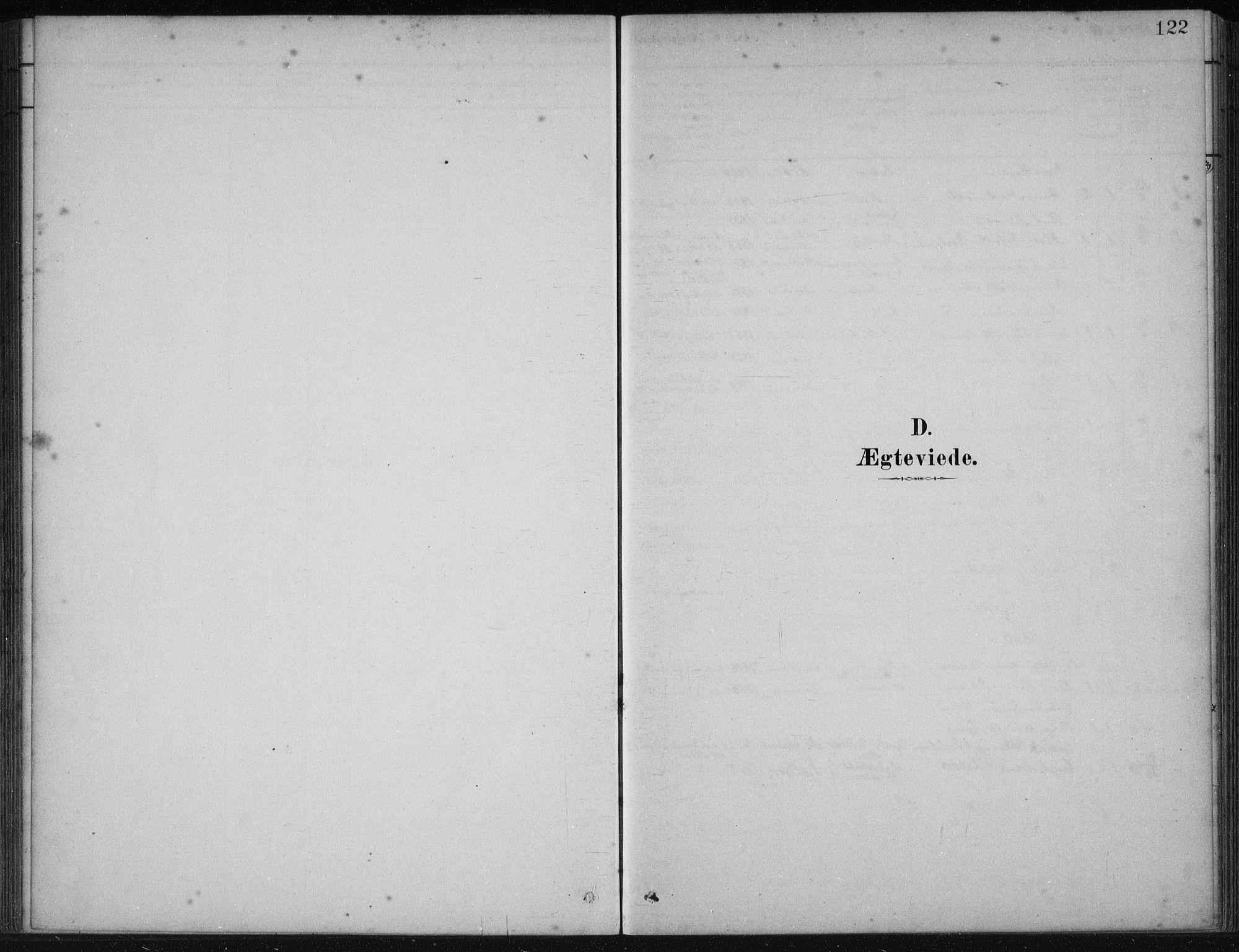 SAB, Fjelberg Sokneprestembete, H/Haa: Ministerialbok nr. B  1, 1879-1919, s. 122