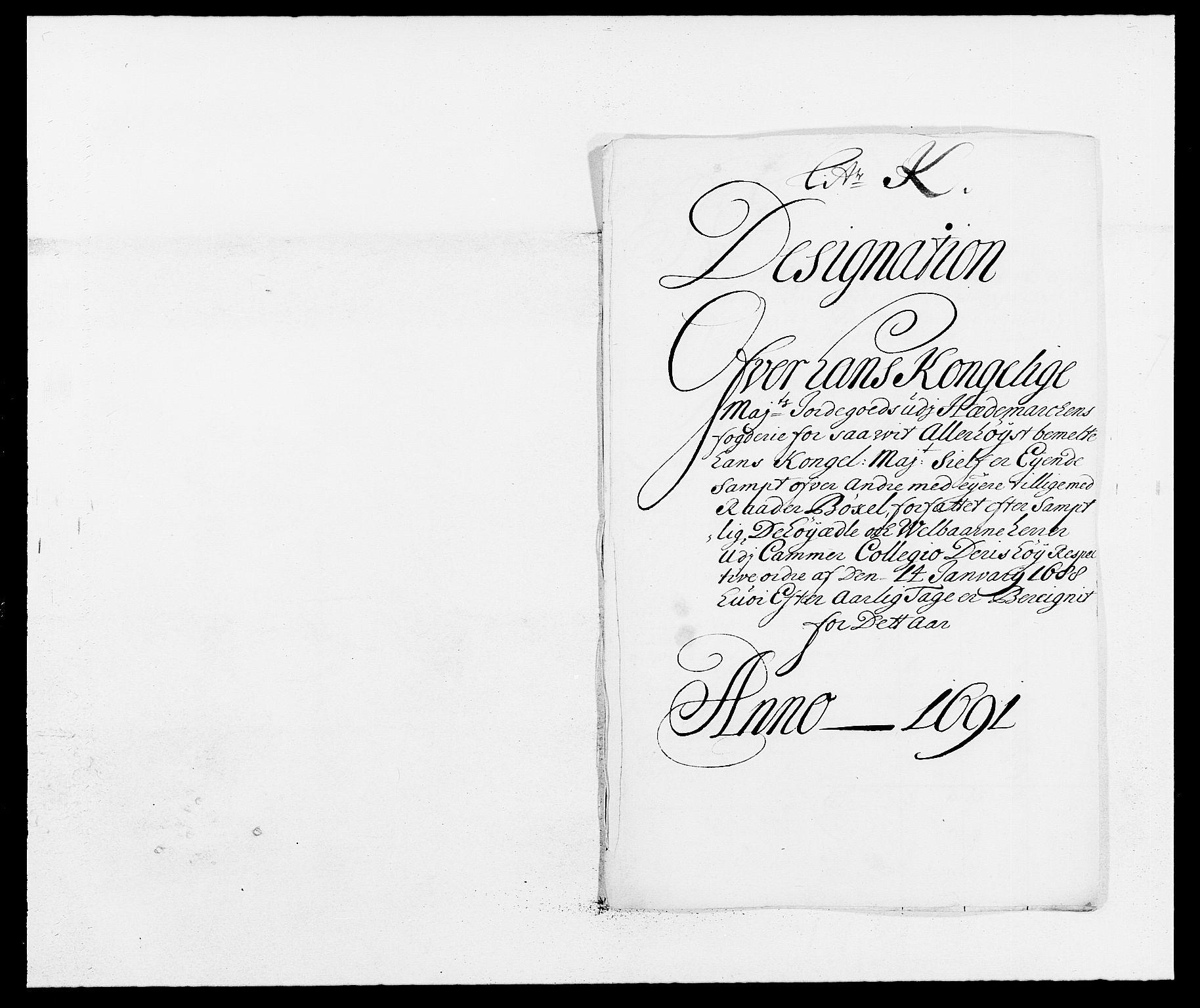 RA, Rentekammeret inntil 1814, Reviderte regnskaper, Fogderegnskap, R16/L1030: Fogderegnskap Hedmark, 1689-1691, s. 336