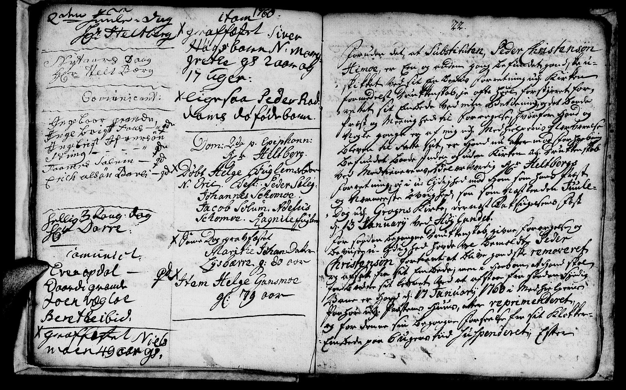 SAT, Ministerialprotokoller, klokkerbøker og fødselsregistre - Nord-Trøndelag, 764/L0543: Ministerialbok nr. 764A03, 1758-1765, s. 22