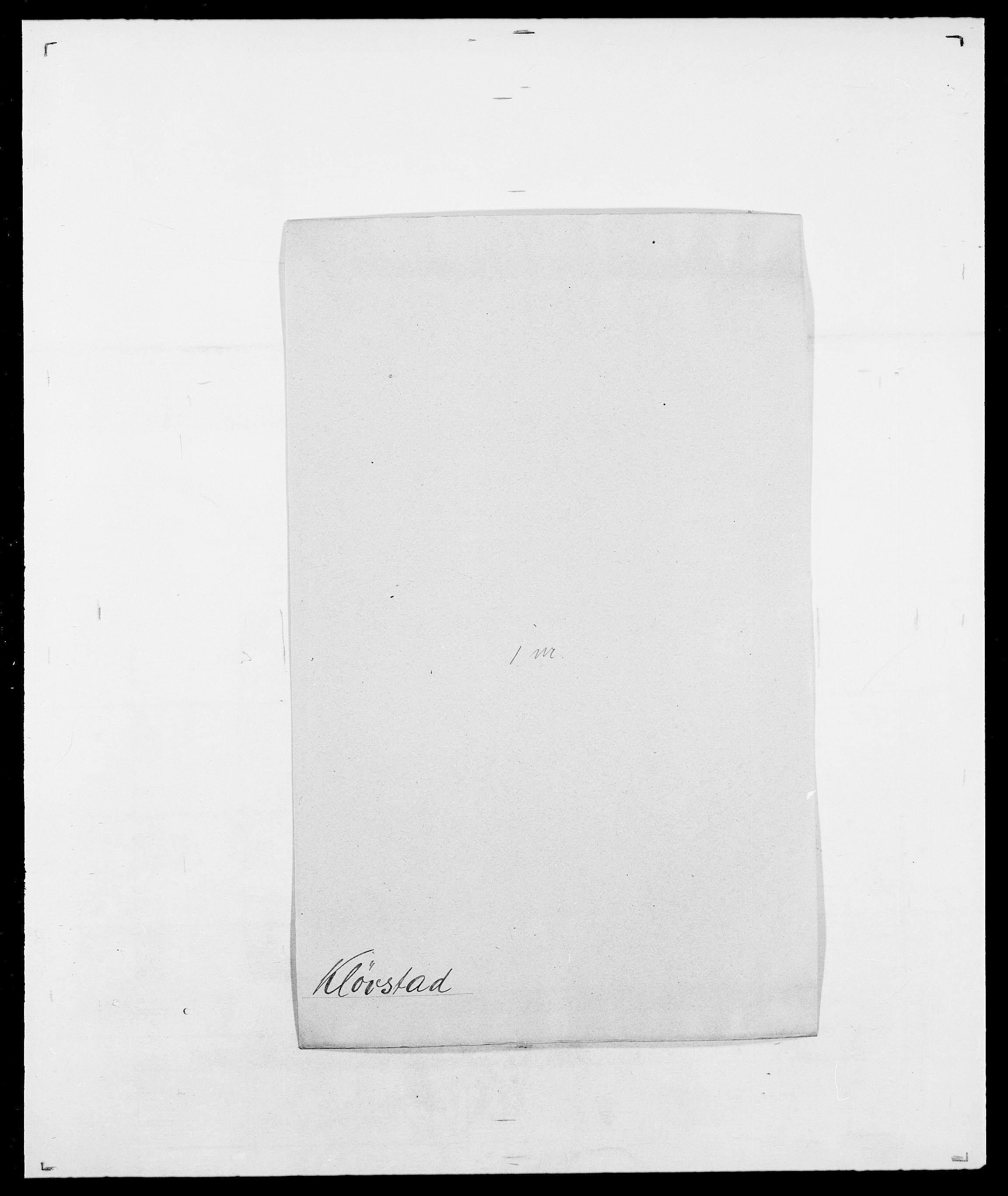 SAO, Delgobe, Charles Antoine - samling, D/Da/L0021: Klagenberg - Kristoft, s. 236