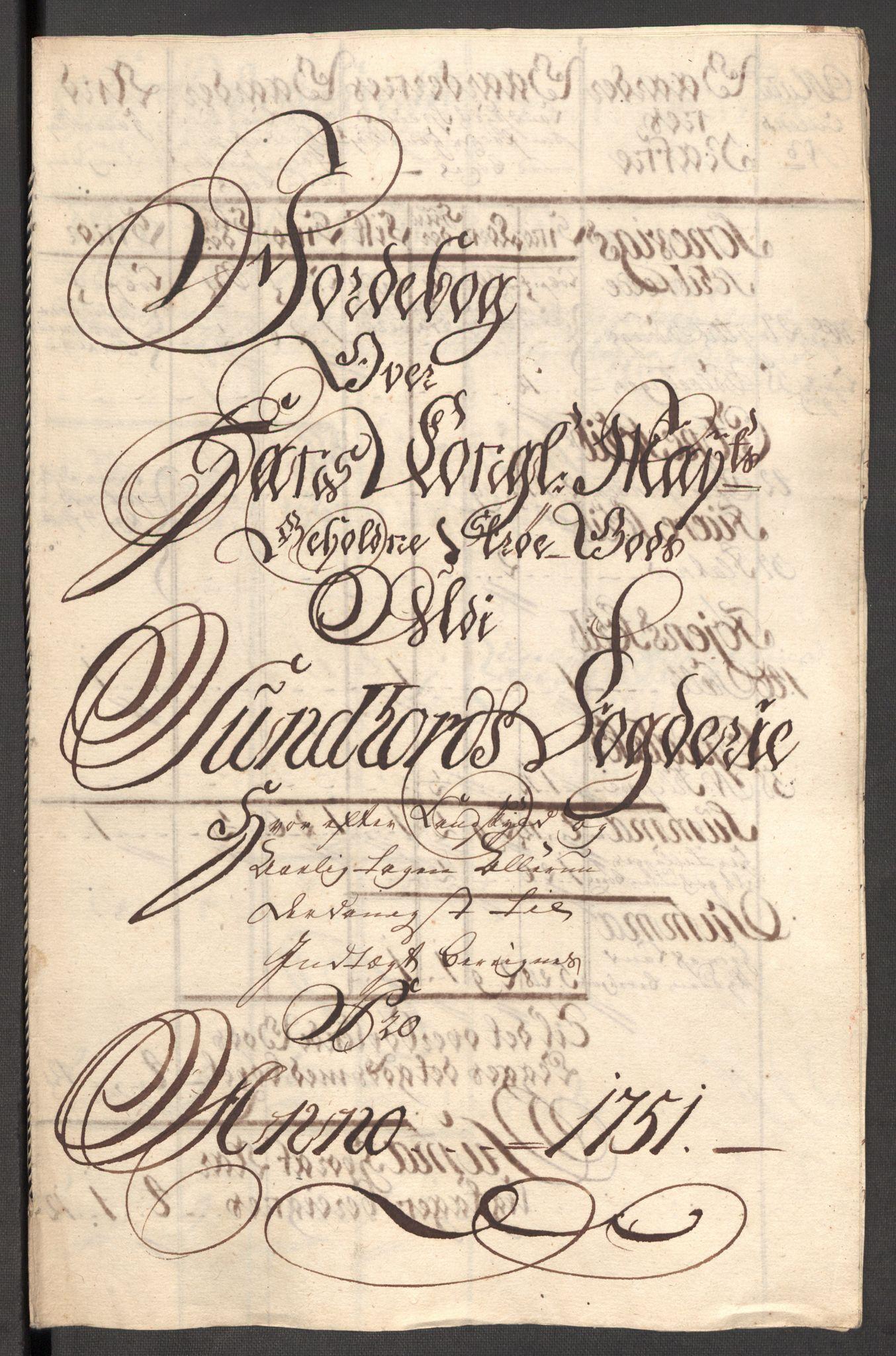 RA, Rentekammeret inntil 1814, Reviderte regnskaper, Fogderegnskap, R48/L3056: Fogderegnskap Sunnhordland og Hardanger, 1751, s. 171