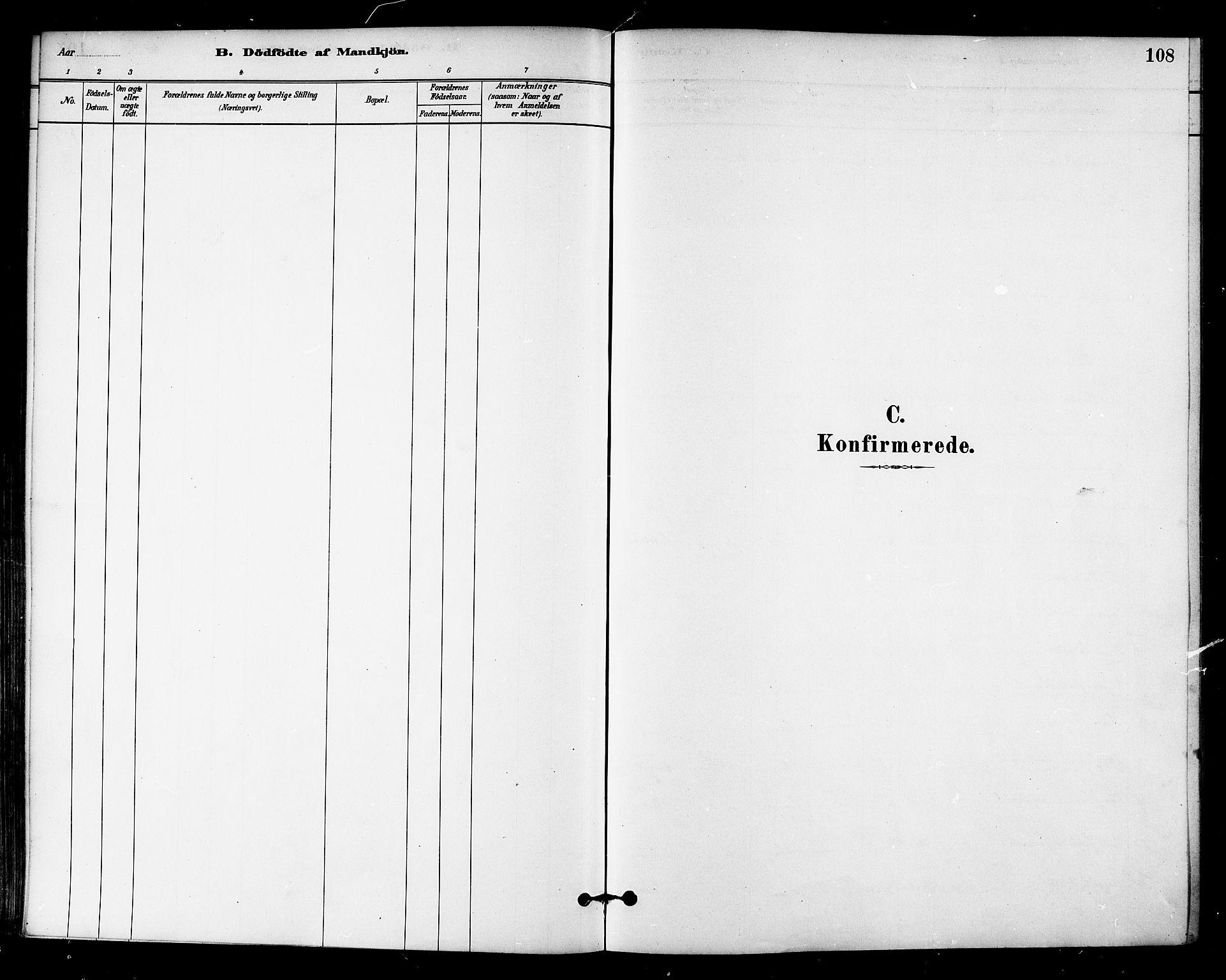SAT, Ministerialprotokoller, klokkerbøker og fødselsregistre - Sør-Trøndelag, 655/L0680: Ministerialbok nr. 655A09, 1880-1894, s. 108