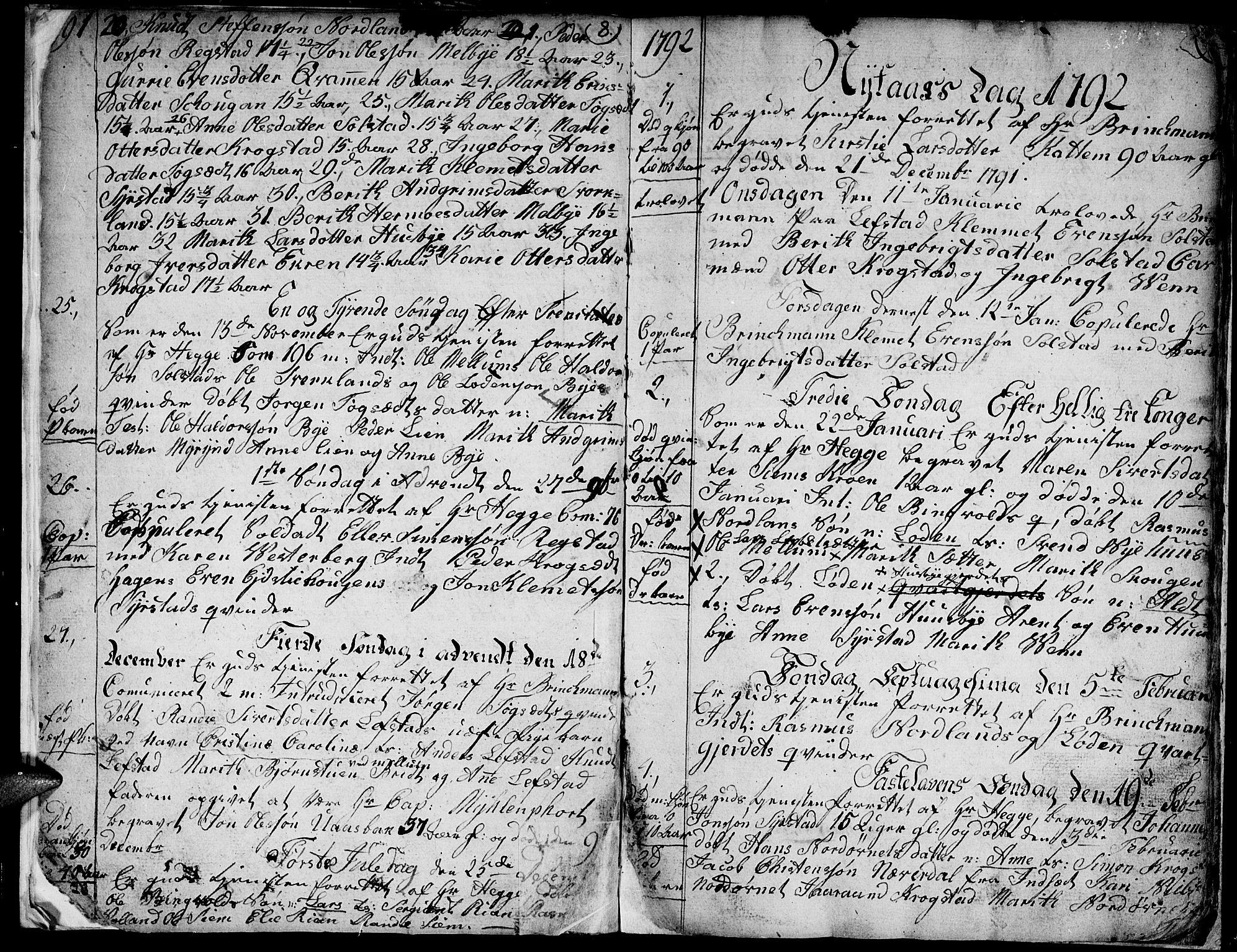 SAT, Ministerialprotokoller, klokkerbøker og fødselsregistre - Sør-Trøndelag, 667/L0794: Ministerialbok nr. 667A02, 1791-1816, s. 10-11