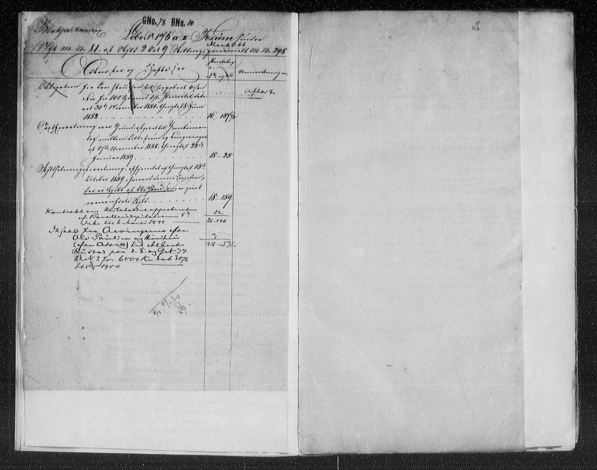 SAO, Nes tingrett, G/Ga/Gab/Gaba/L0013.a: Panteregister nr. I 13a, s. 2