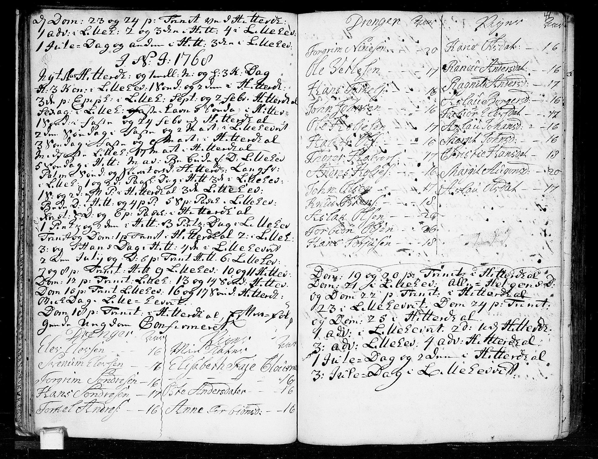 SAKO, Heddal kirkebøker, F/Fa/L0003: Ministerialbok nr. I 3, 1723-1783, s. 41