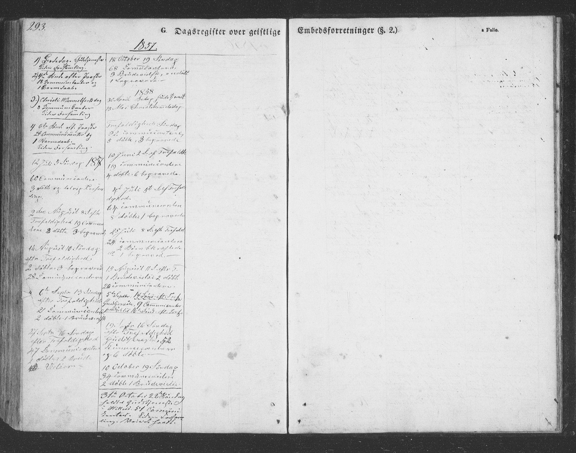 SATØ, Lenvik sokneprestembete, H/Ha: Klokkerbok nr. 20, 1855-1883, s. 293