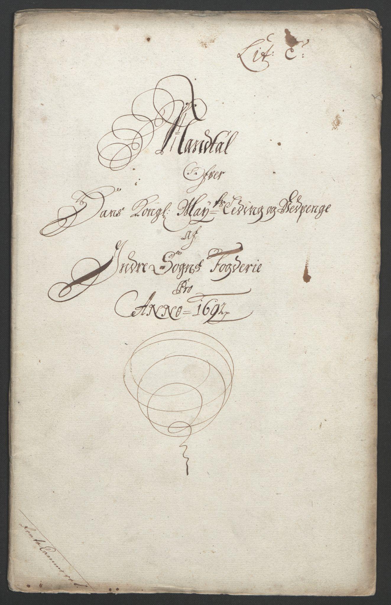 RA, Rentekammeret inntil 1814, Reviderte regnskaper, Fogderegnskap, R52/L3306: Fogderegnskap Sogn, 1691-1692, s. 197