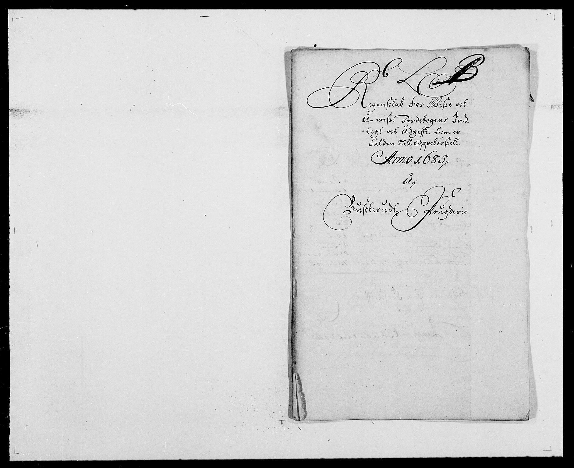 RA, Rentekammeret inntil 1814, Reviderte regnskaper, Fogderegnskap, R25/L1678: Fogderegnskap Buskerud, 1685-1686, s. 29