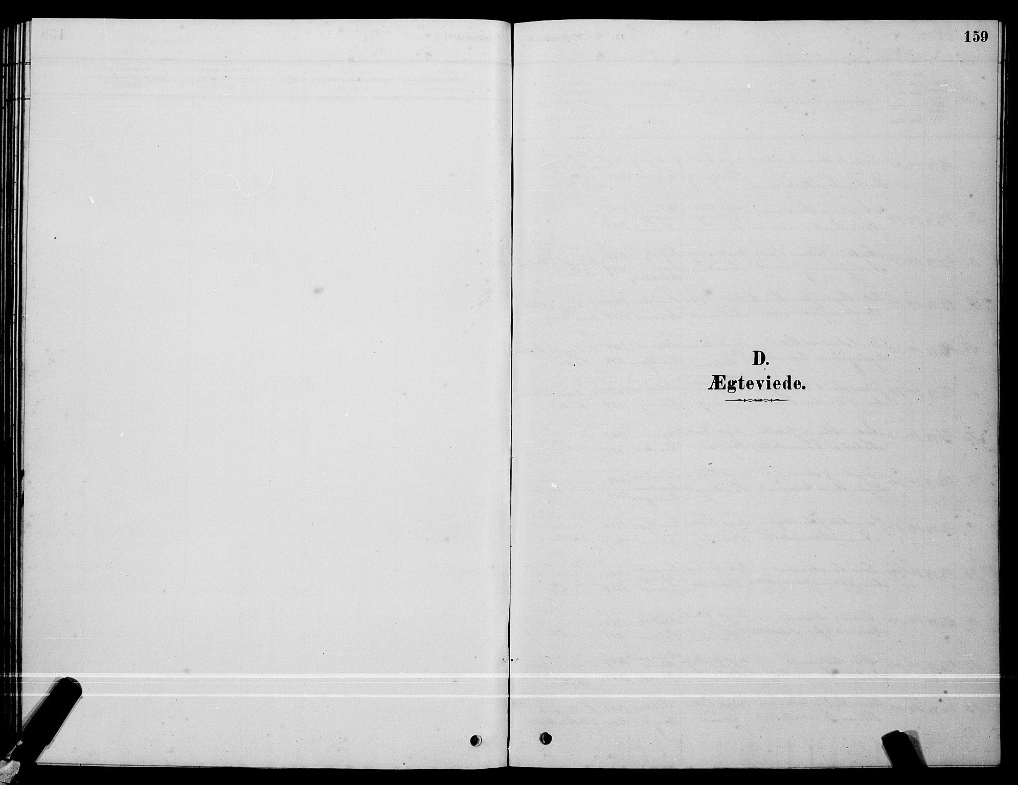 SAT, Ministerialprotokoller, klokkerbøker og fødselsregistre - Sør-Trøndelag, 640/L0585: Klokkerbok nr. 640C03, 1878-1891, s. 159