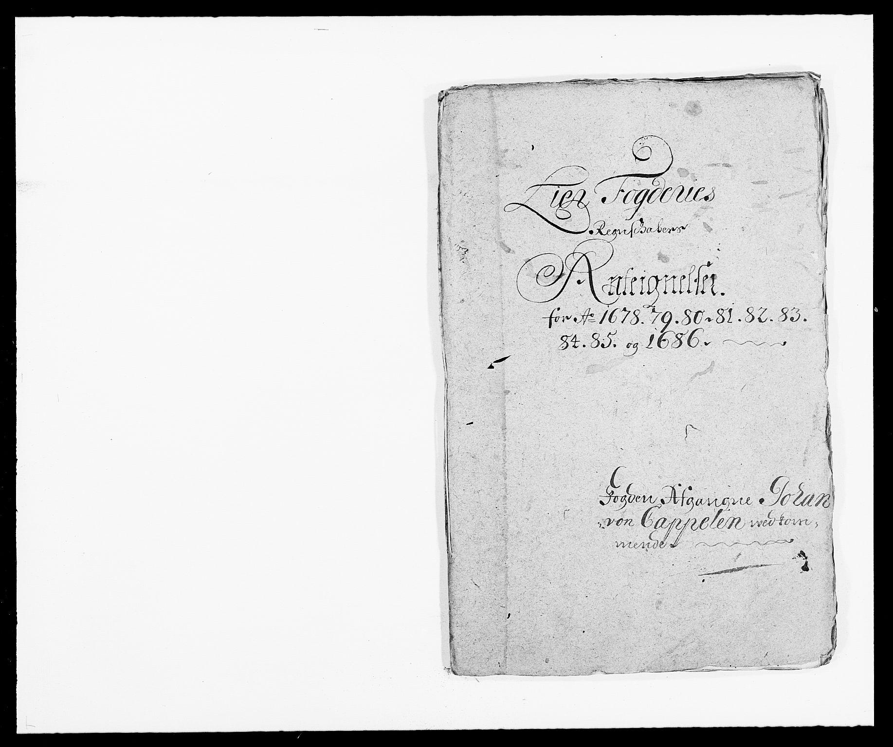 RA, Rentekammeret inntil 1814, Reviderte regnskaper, Fogderegnskap, R27/L1687: Fogderegnskap Lier, 1678-1686, s. 375