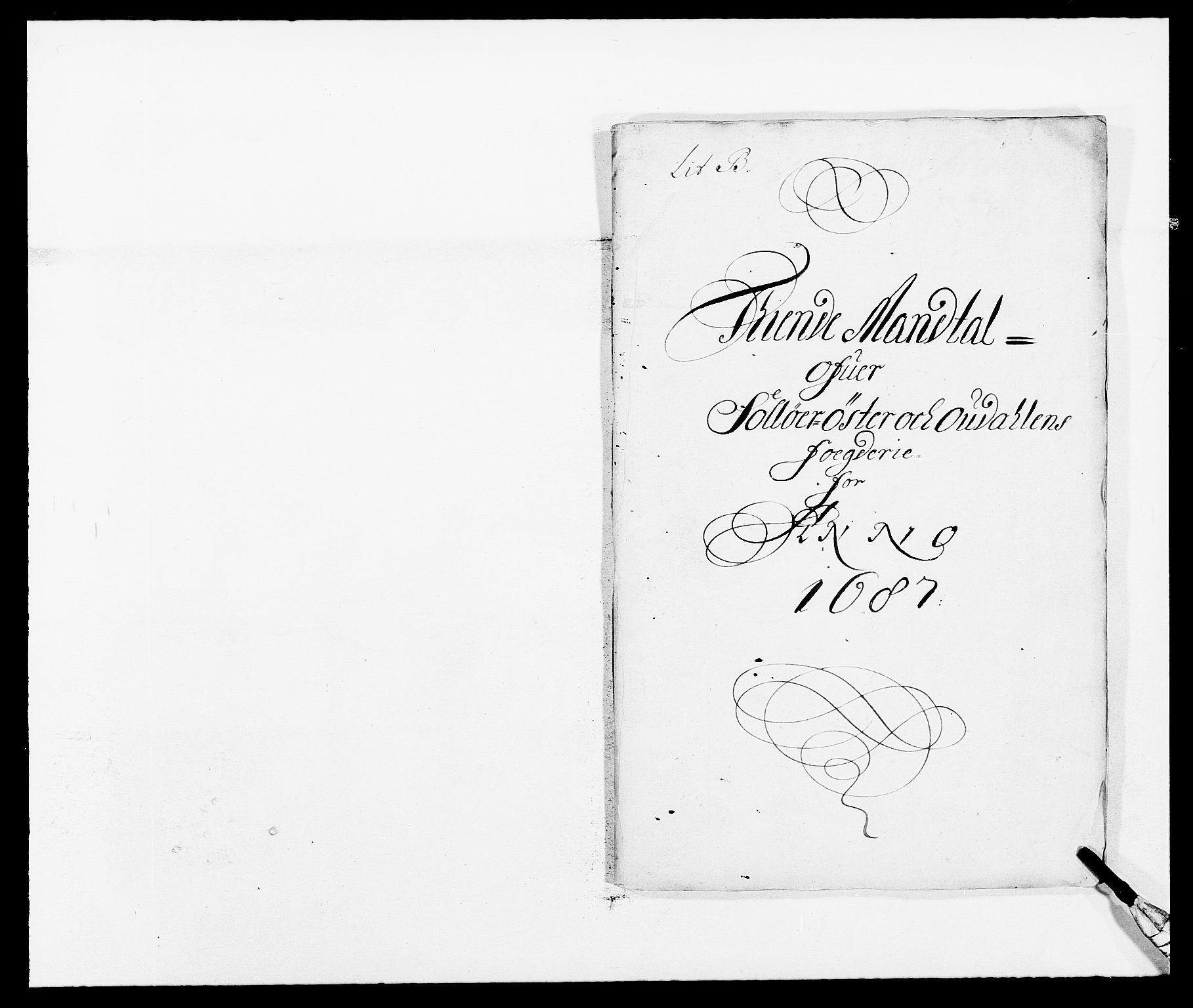 RA, Rentekammeret inntil 1814, Reviderte regnskaper, Fogderegnskap, R13/L0824: Fogderegnskap Solør, Odal og Østerdal, 1687, s. 149