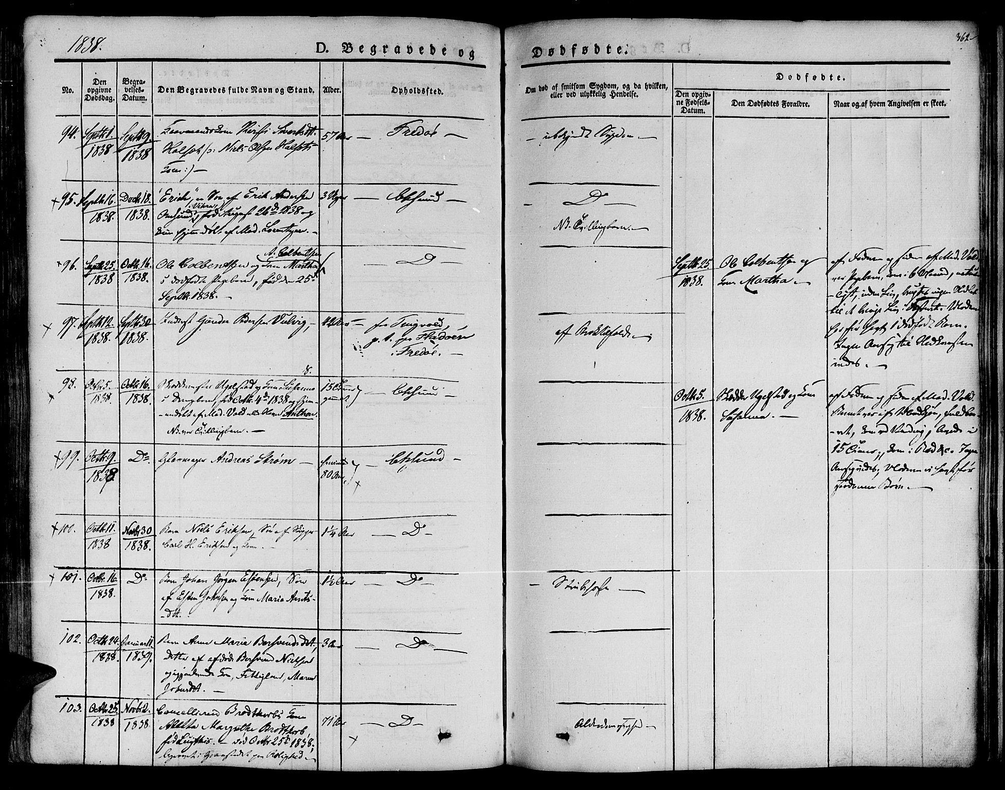 SAT, Ministerialprotokoller, klokkerbøker og fødselsregistre - Møre og Romsdal, 572/L0843: Ministerialbok nr. 572A06, 1832-1842, s. 362