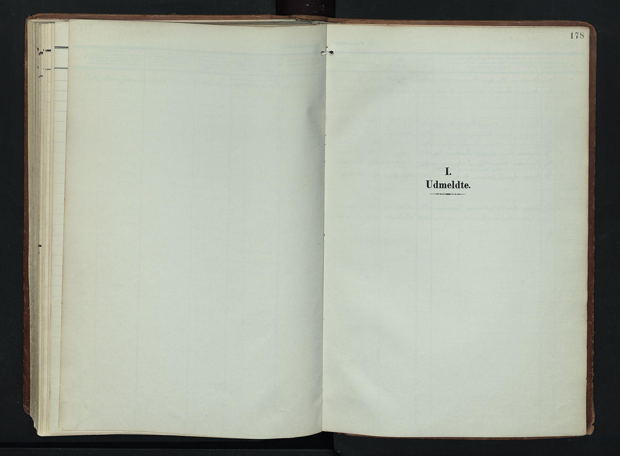 SAH, Søndre Land prestekontor, K/L0007: Ministerialbok nr. 7, 1905-1914, s. 178