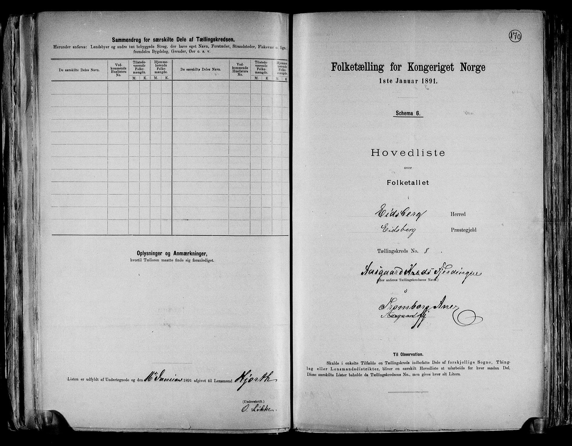 RA, Folketelling 1891 for 0125 Eidsberg herred, 1891, s. 22