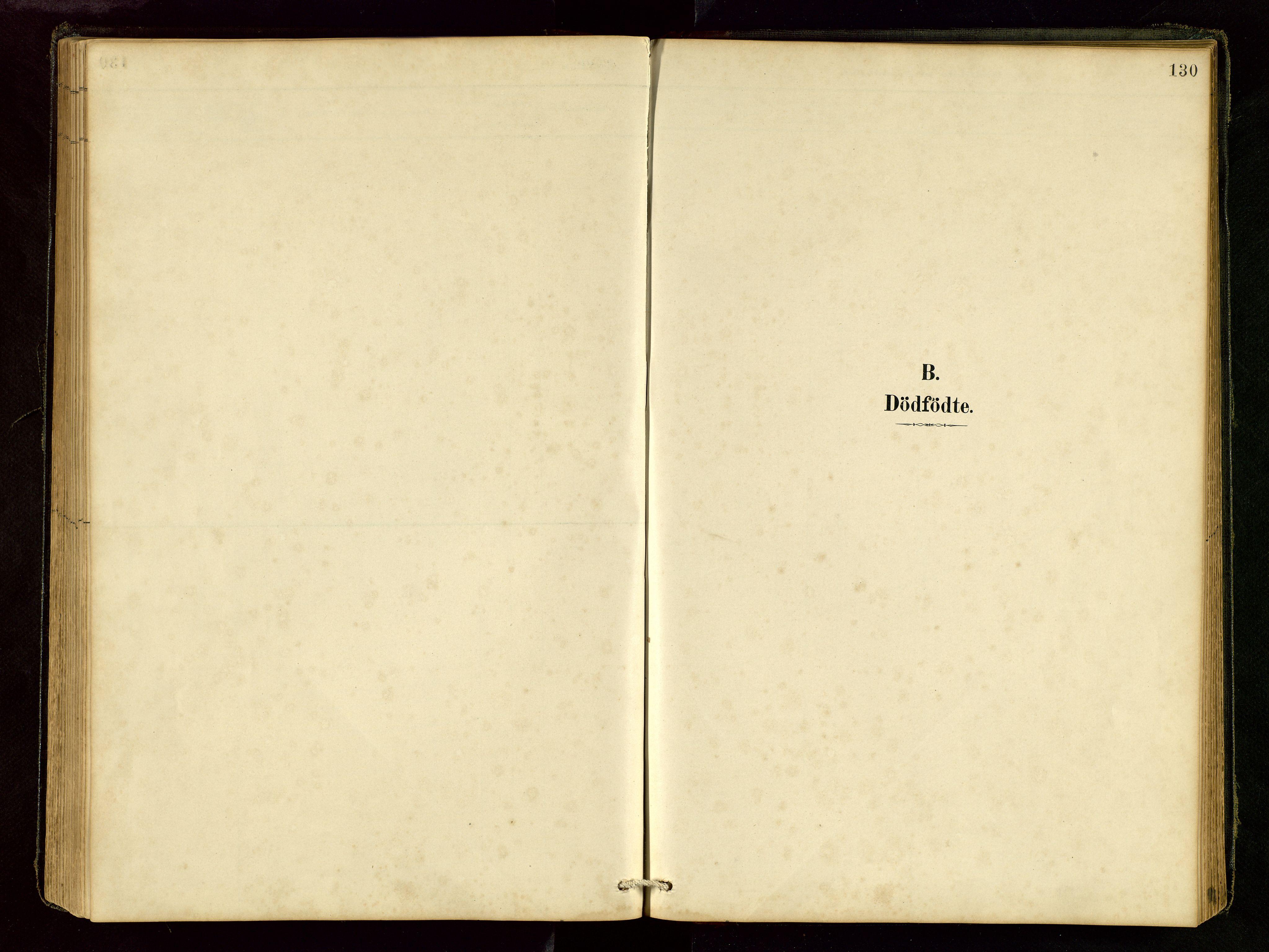 SAST, Vikedal sokneprestkontor, V: Klokkerbok nr. B 6, 1889-1956, s. 130