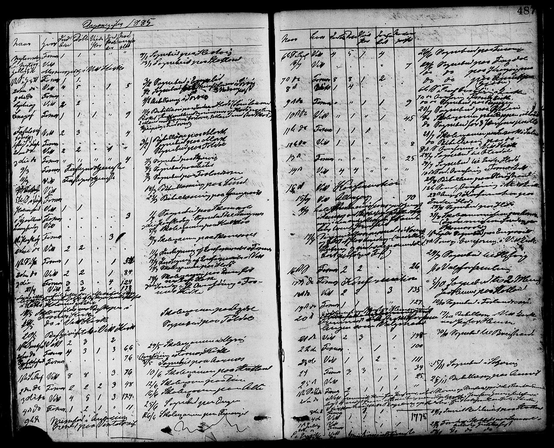 SAT, Ministerialprotokoller, klokkerbøker og fødselsregistre - Nord-Trøndelag, 773/L0616: Ministerialbok nr. 773A07, 1870-1887, s. 487